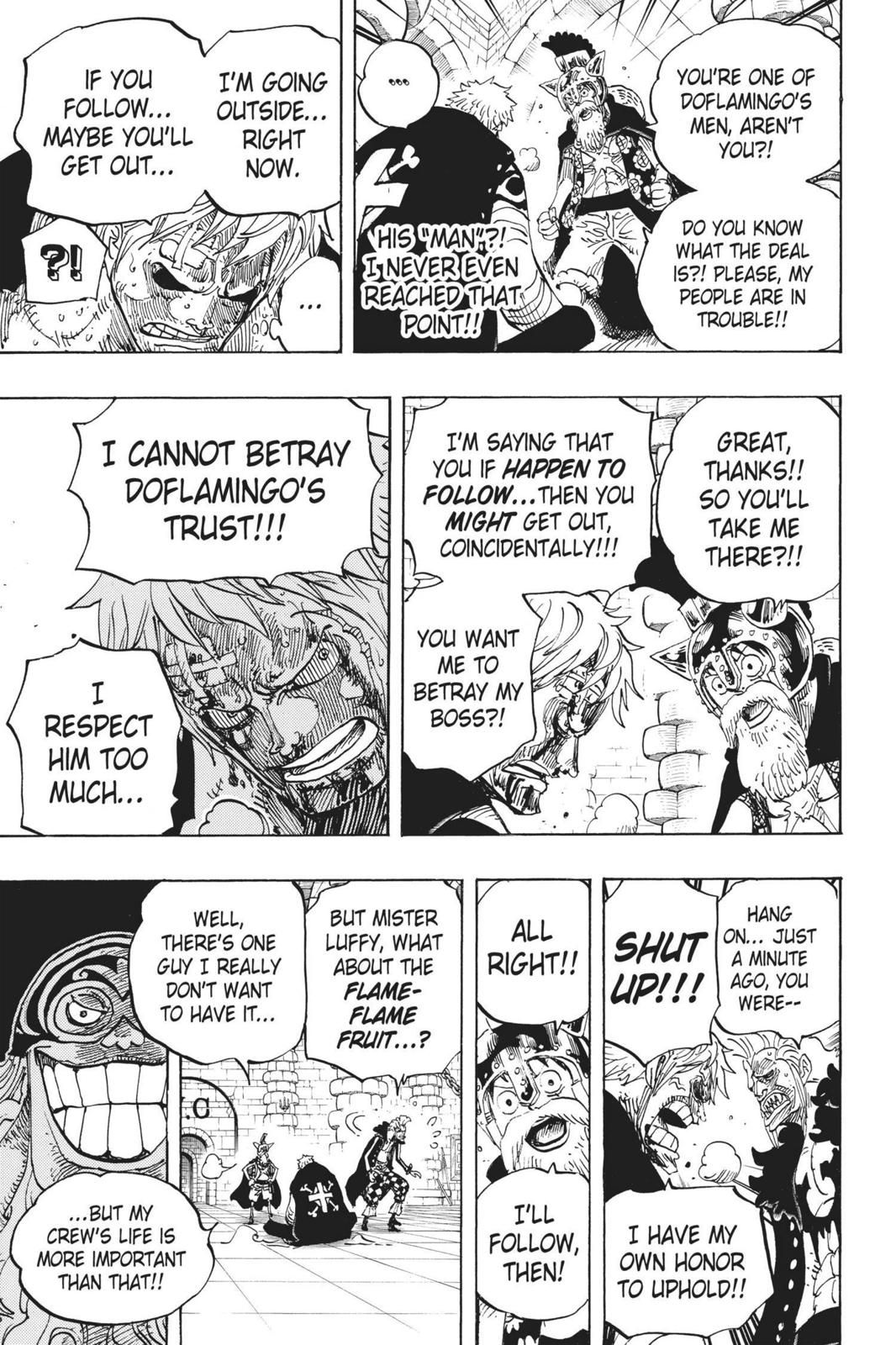 One Piece Chapter 731 Page 13