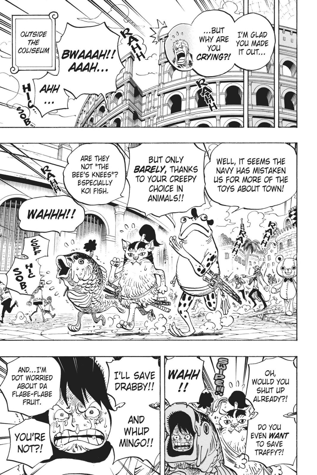 One Piece Chapter 731 Page 17