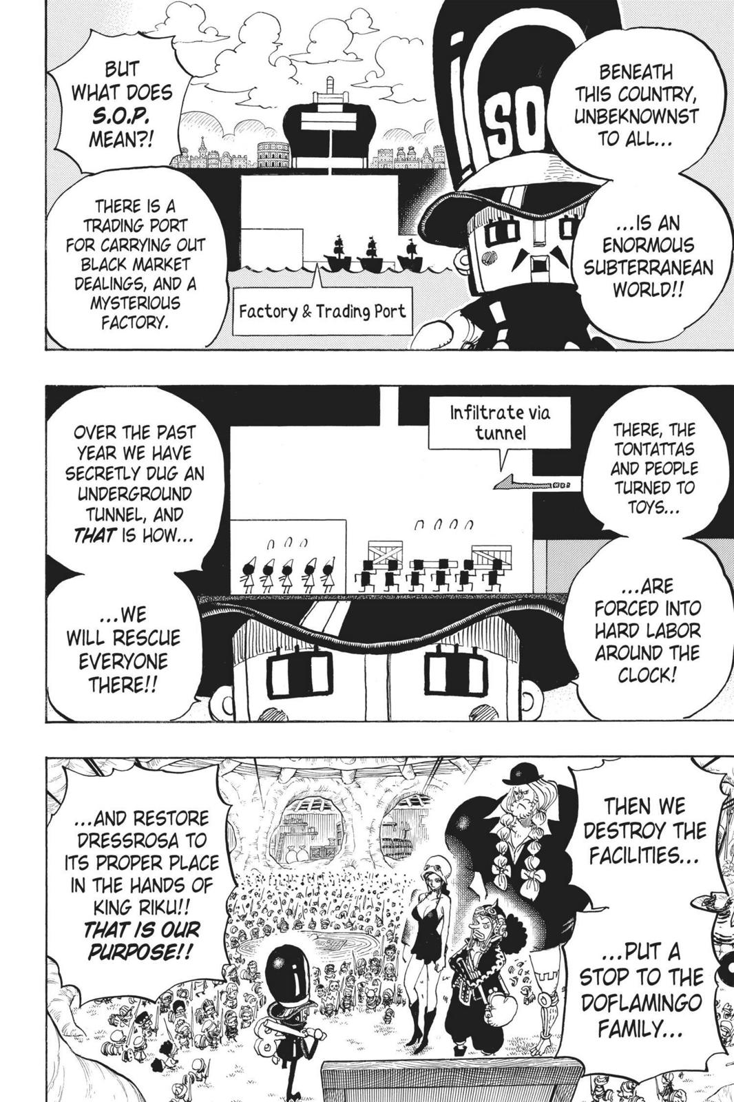 One Piece Chapter 731 Page 6
