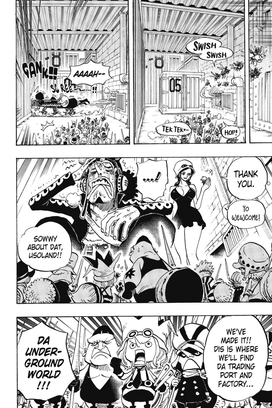 One Piece Chapter 732 Page 21