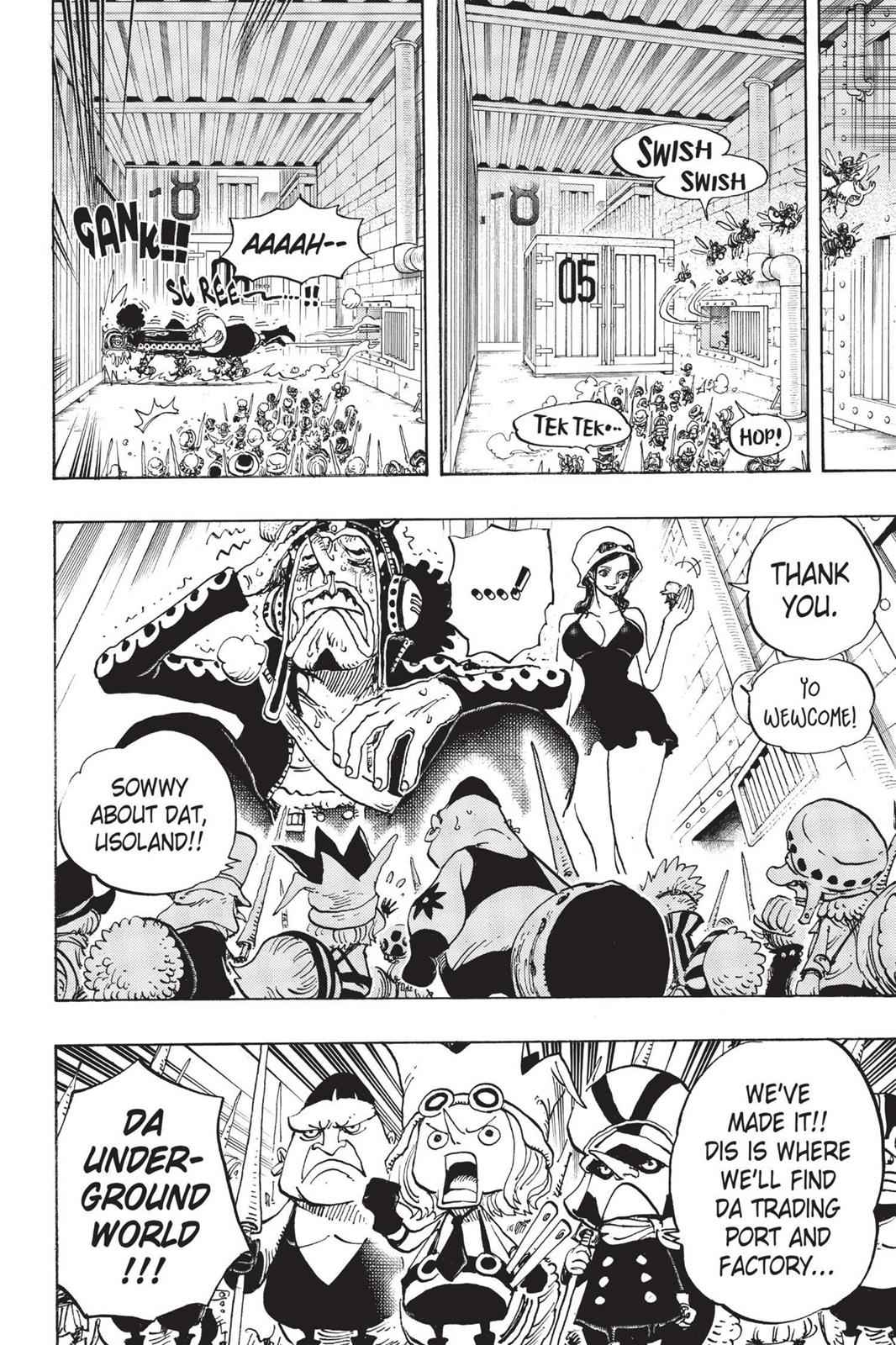 One Piece Chapter 732 Page 23