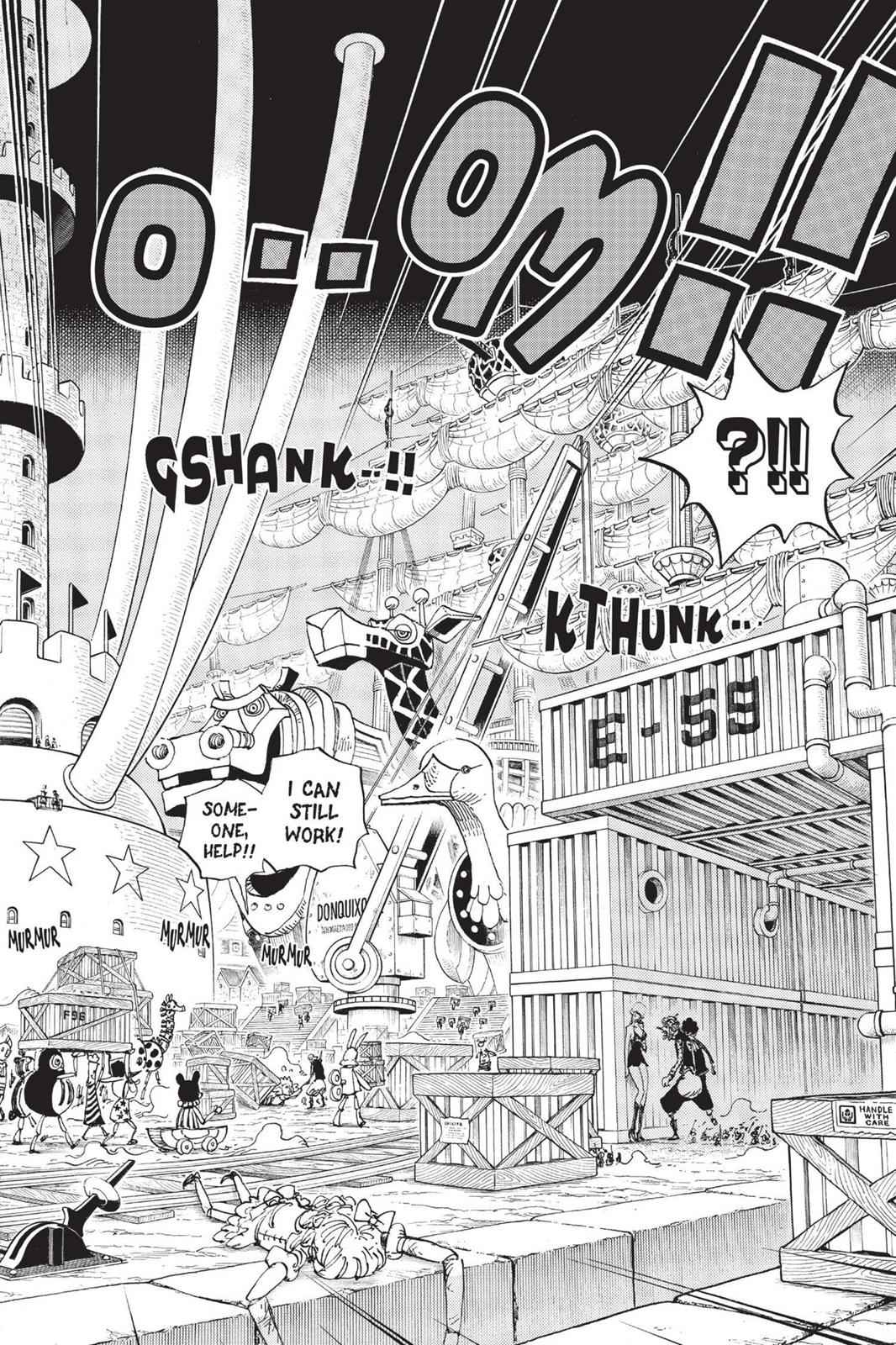 One Piece Chapter 732 Page 25