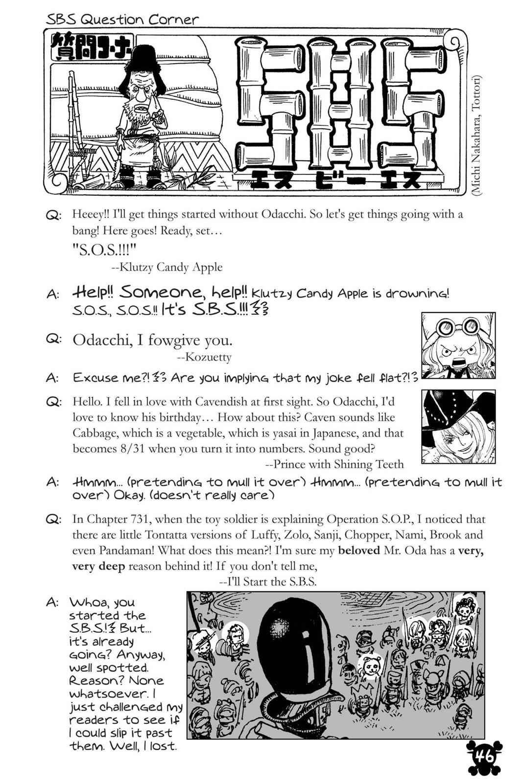 One Piece Chapter 733 Page 21