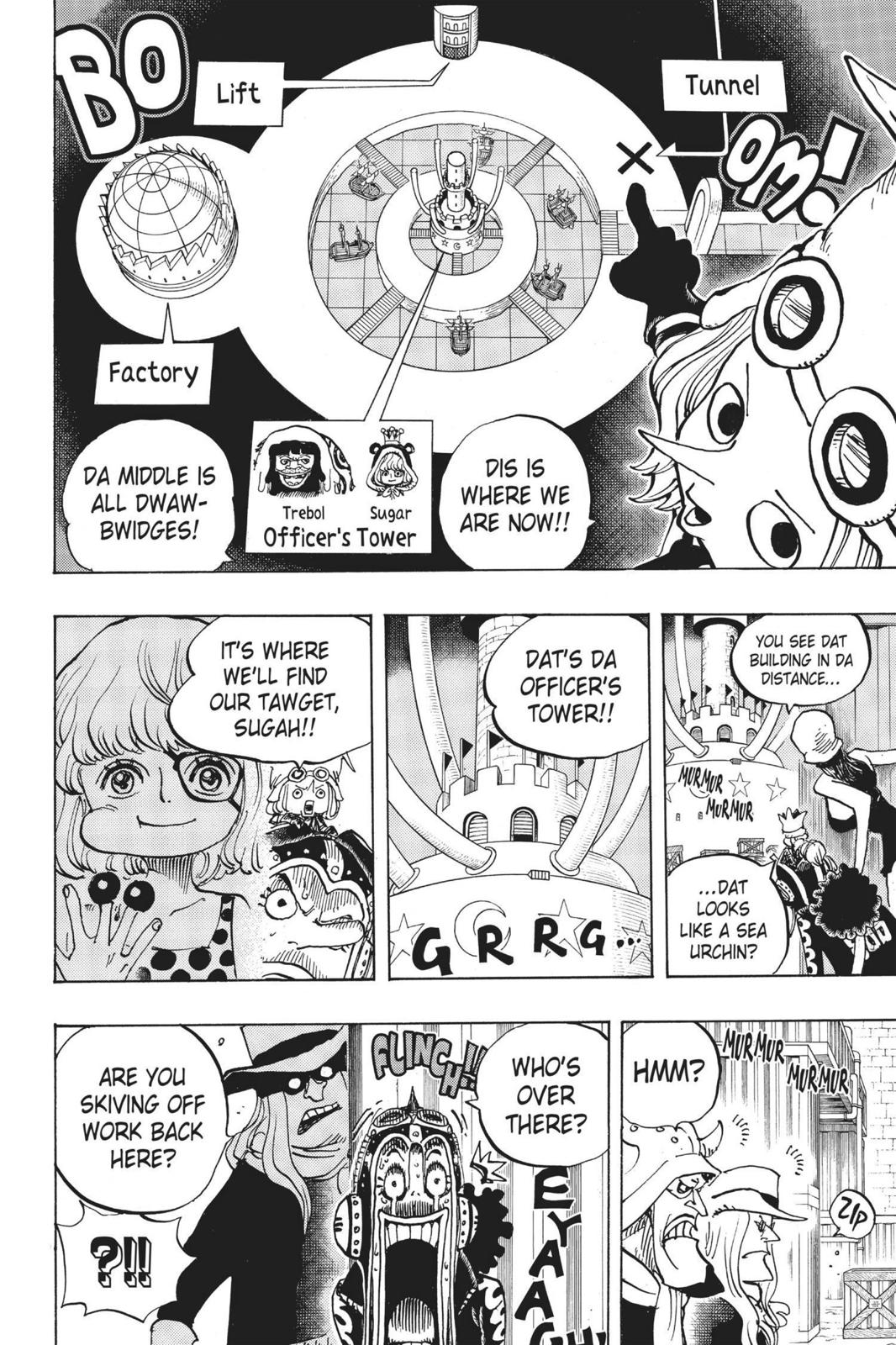 One Piece Chapter 733 Page 8