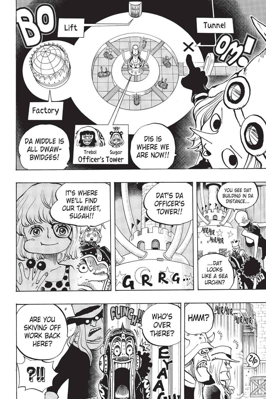 One Piece Chapter 733 Page 9