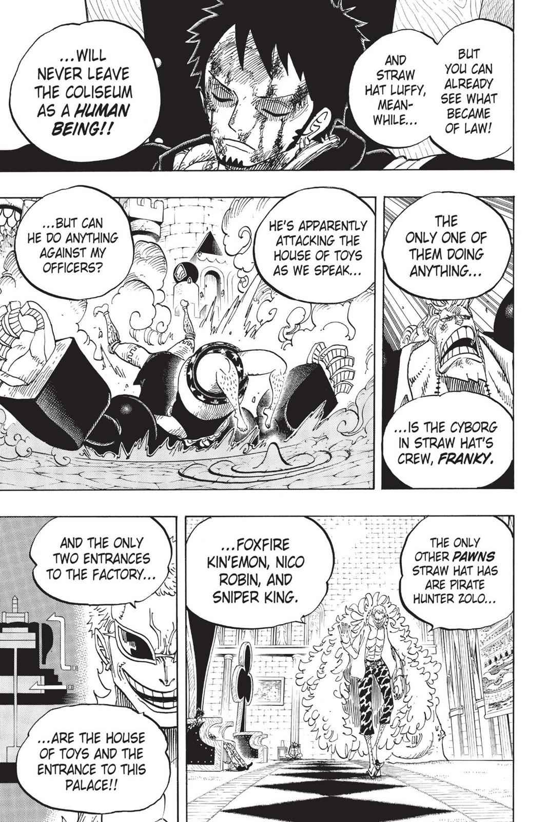 One Piece Chapter 734 Page 17
