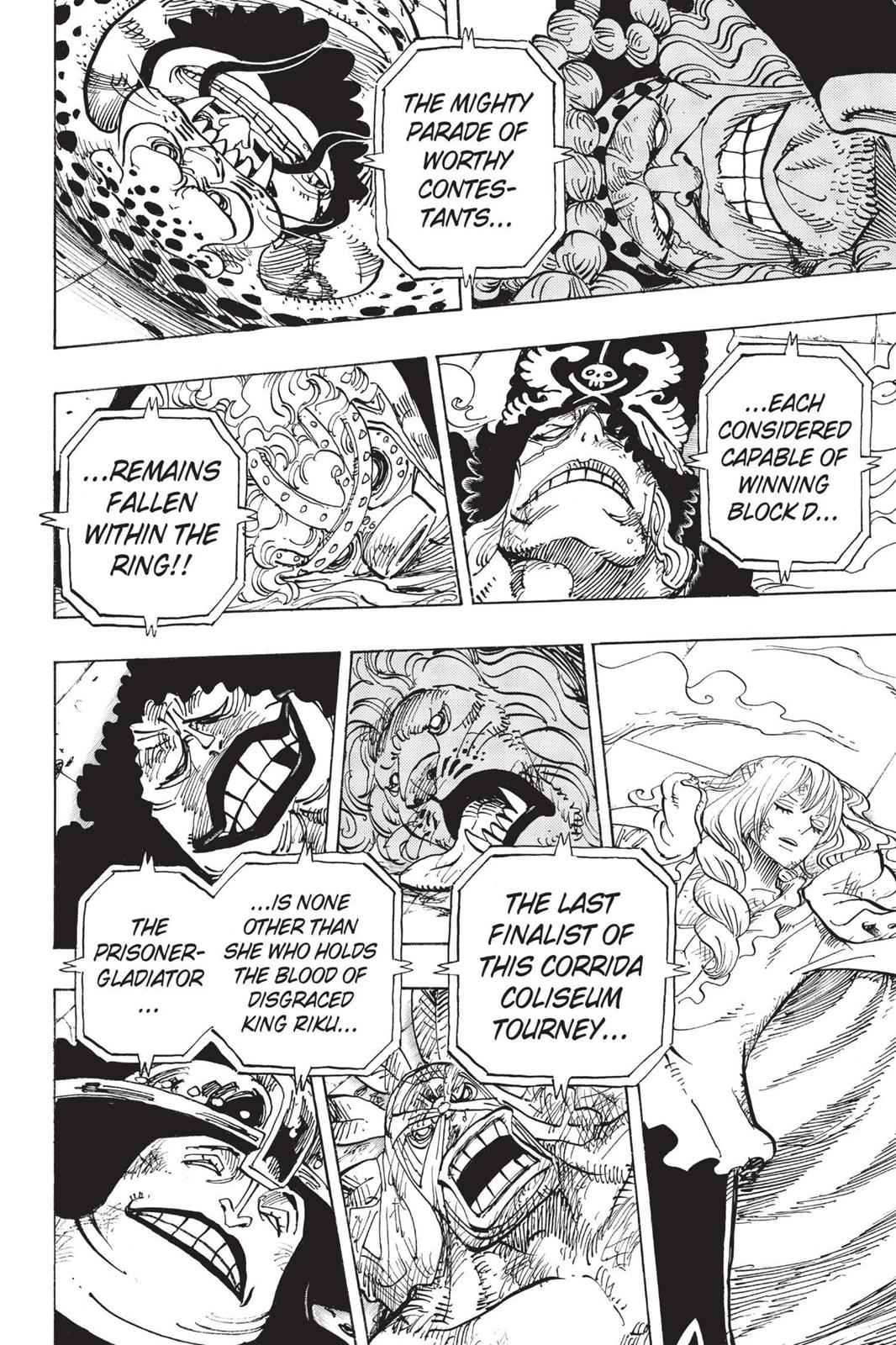 One Piece Chapter 734 Page 4