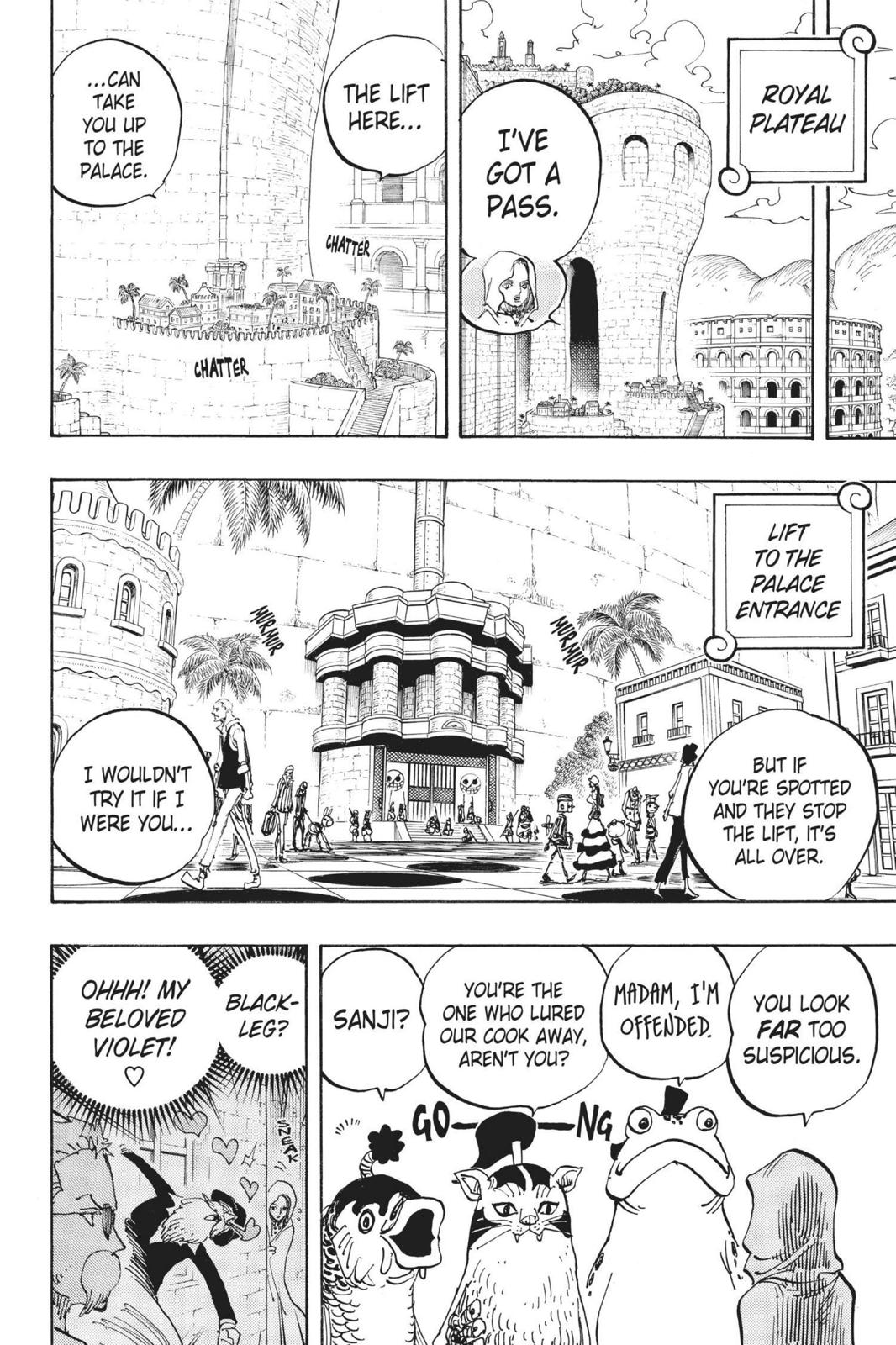 One Piece Chapter 735 Page 4