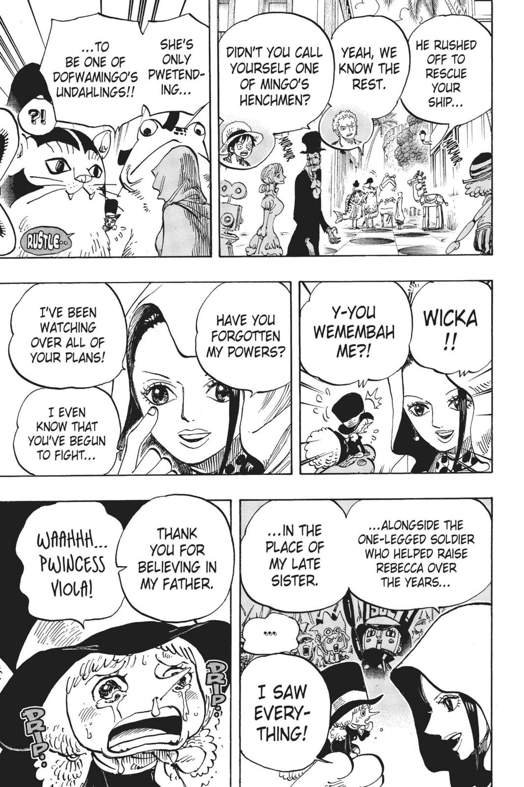 One Piece Chapter 735 Page 5