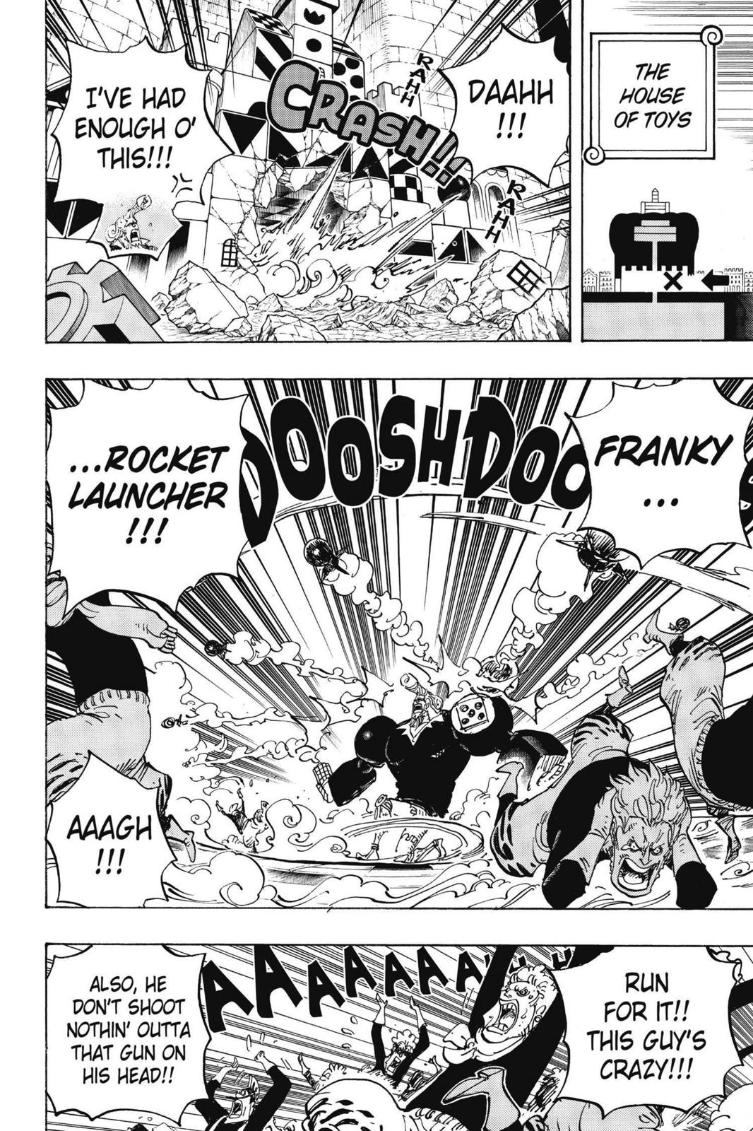 One Piece Chapter 735 Page 8