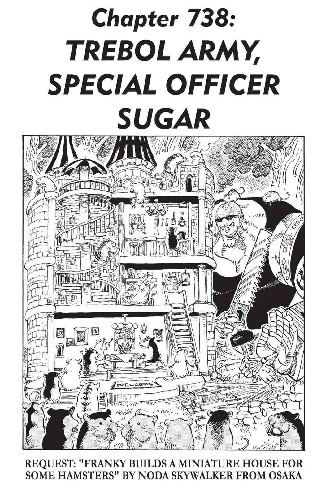 One Piece Chapter 738 Page 1