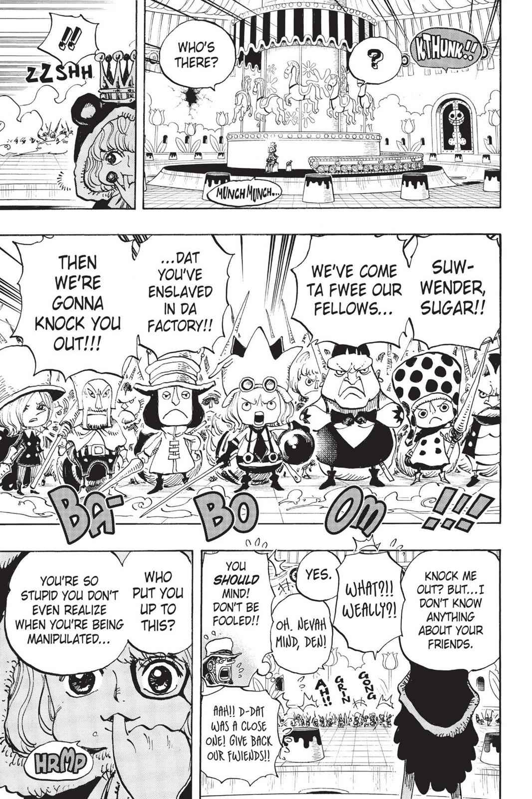 One Piece Chapter 738 Page 11
