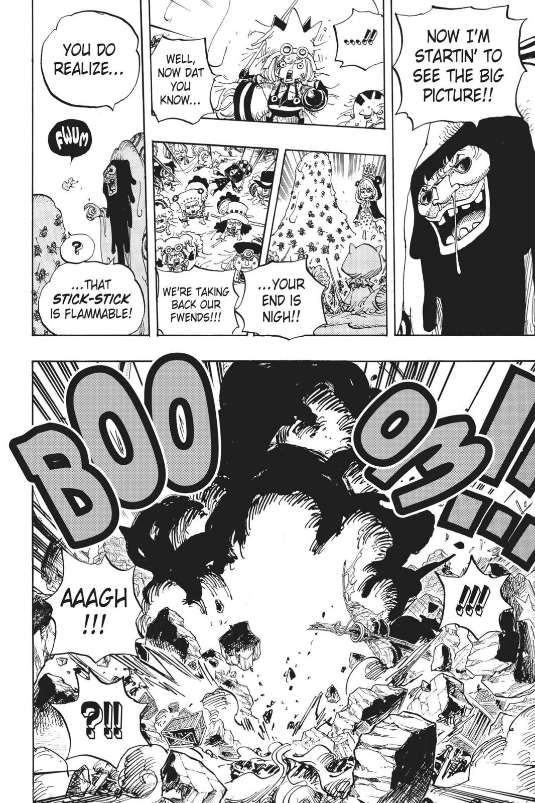 One Piece Chapter 739 Page 6