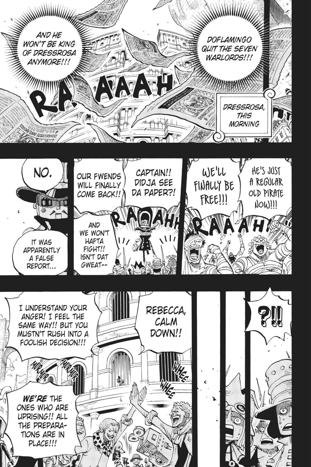 One Piece Chapter 739 Page 9