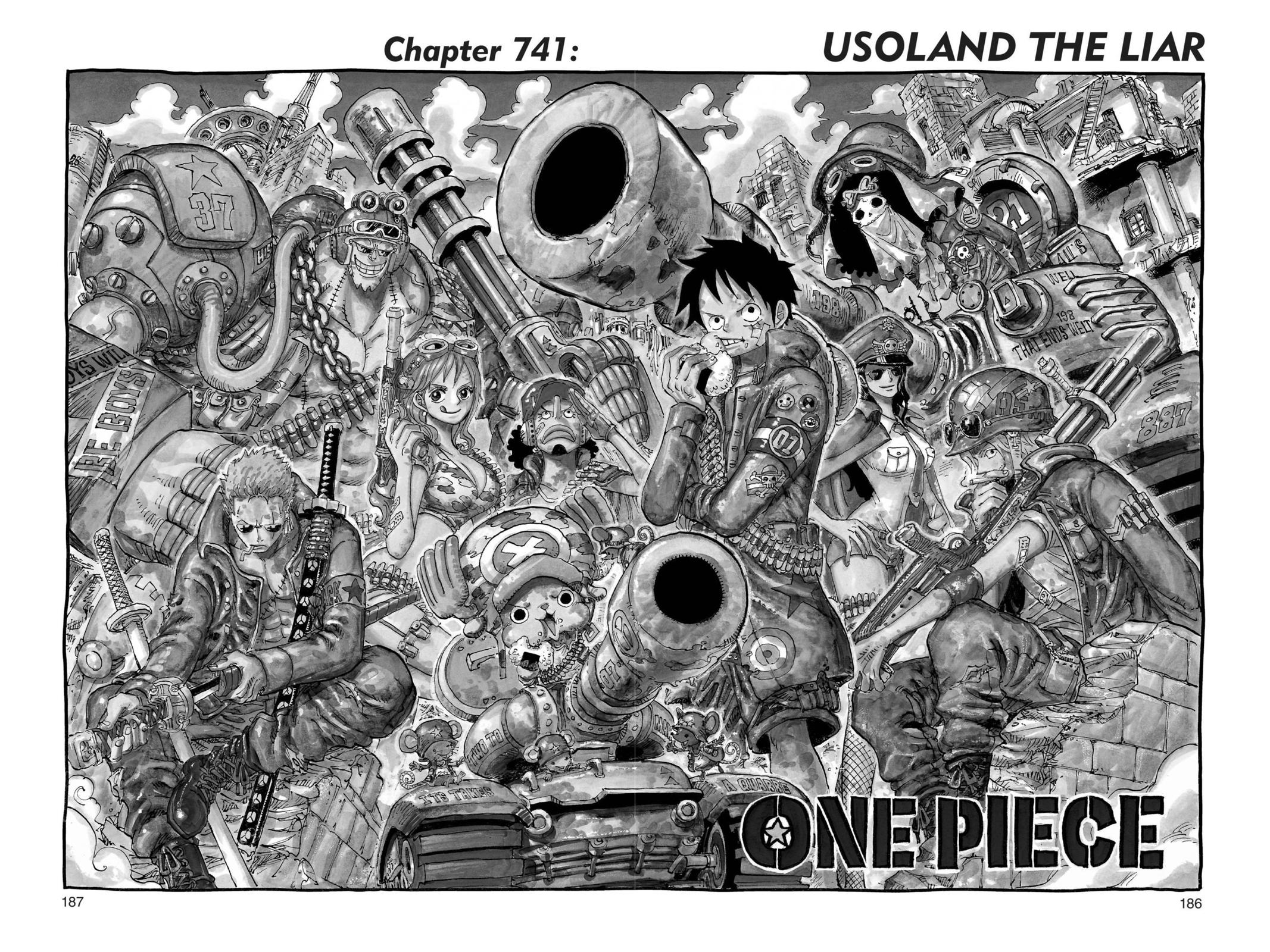 One Piece Chapter 741 Page 1
