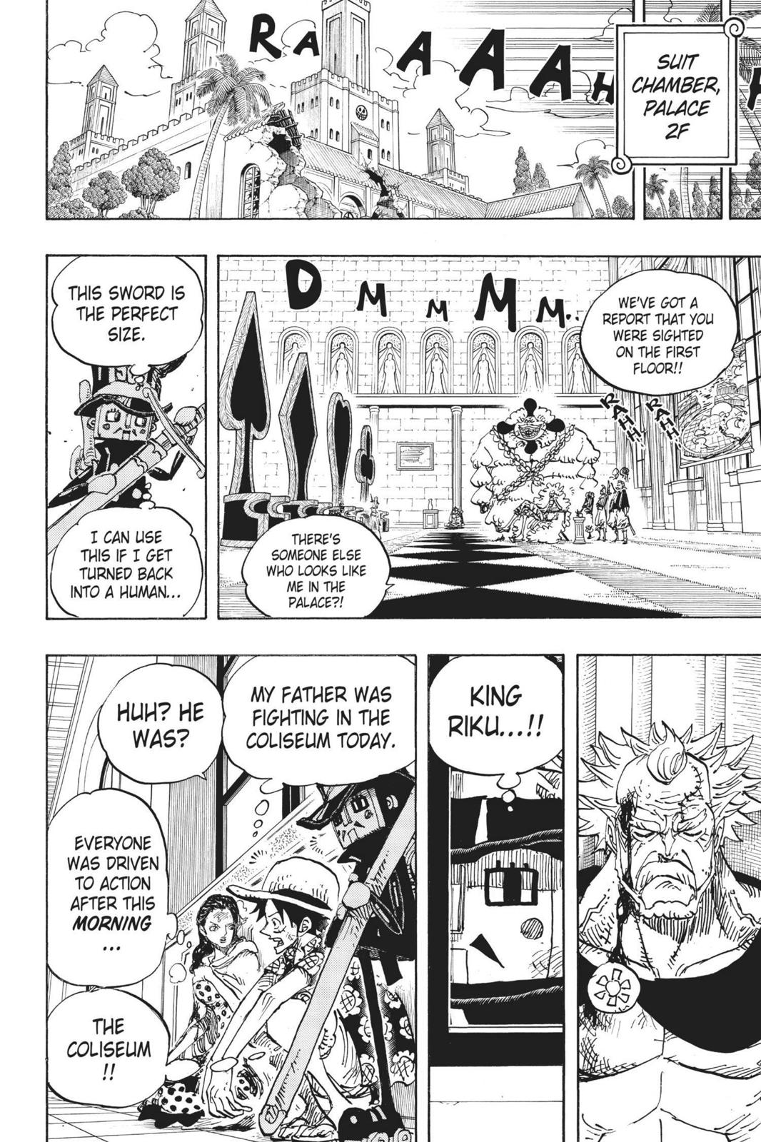 One Piece Chapter 741 Page 14