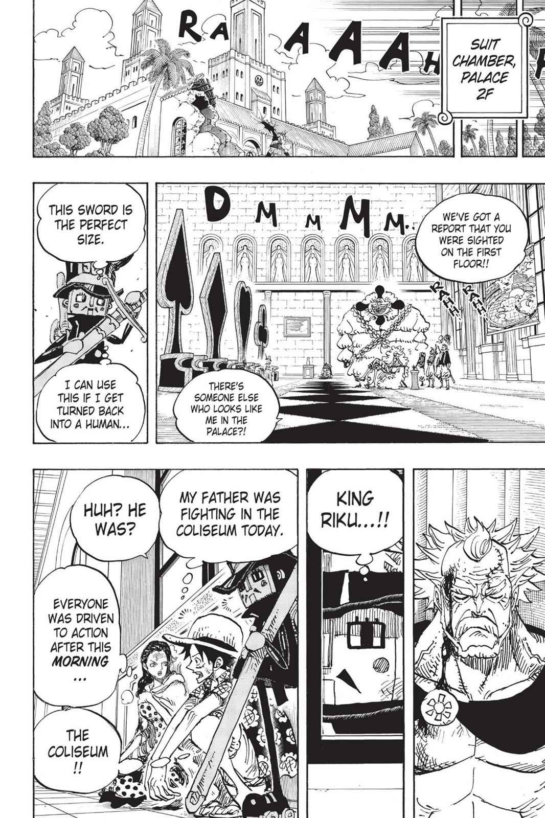 One Piece Chapter 741 Page 15