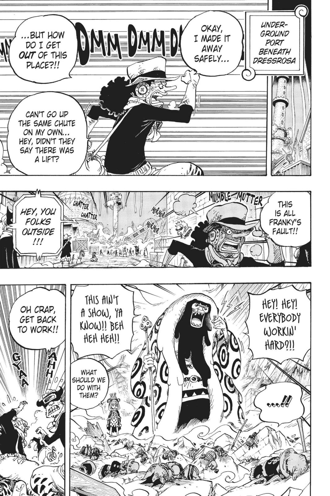 One Piece Chapter 741 Page 3