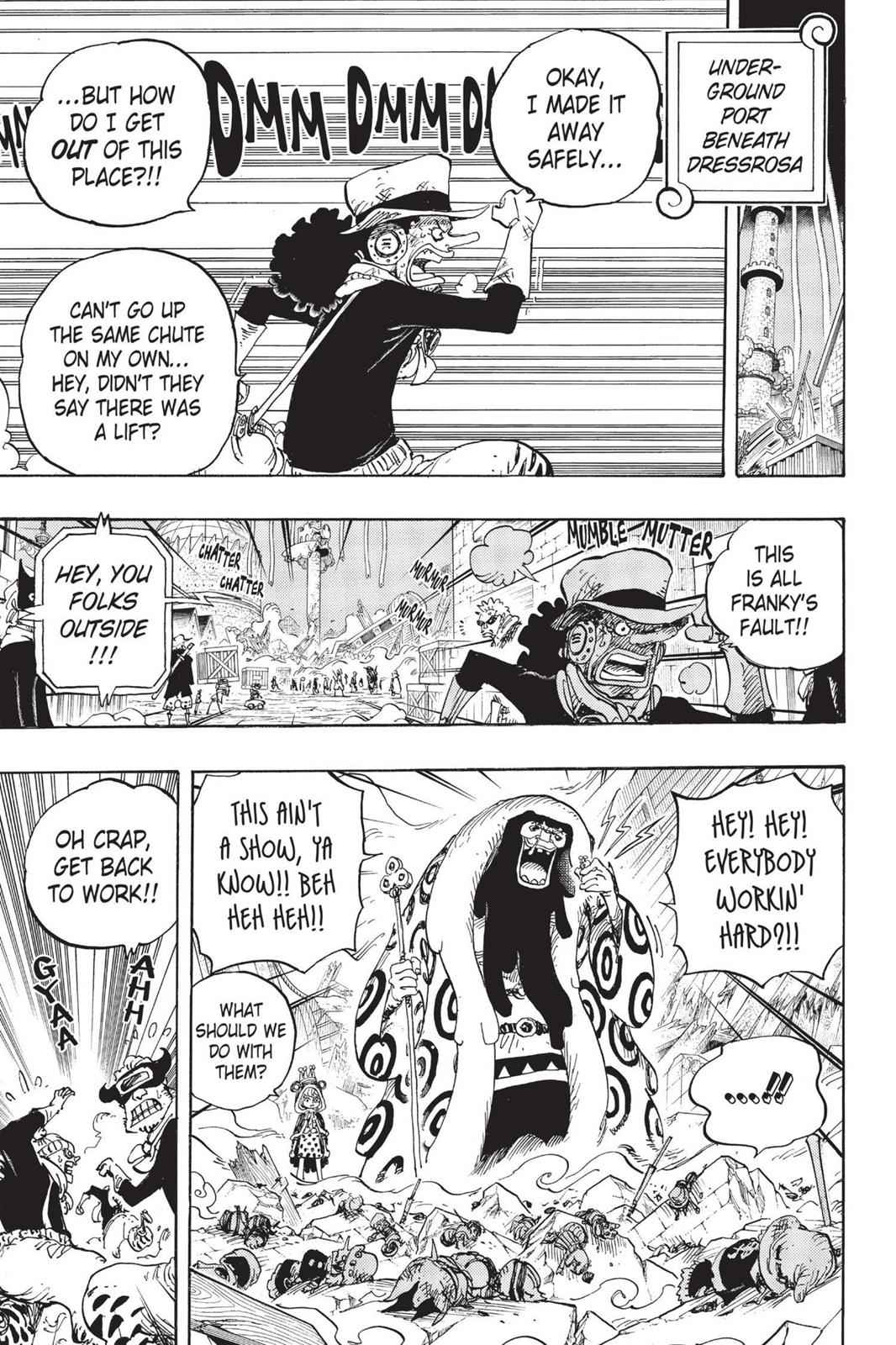 One Piece Chapter 741 Page 4