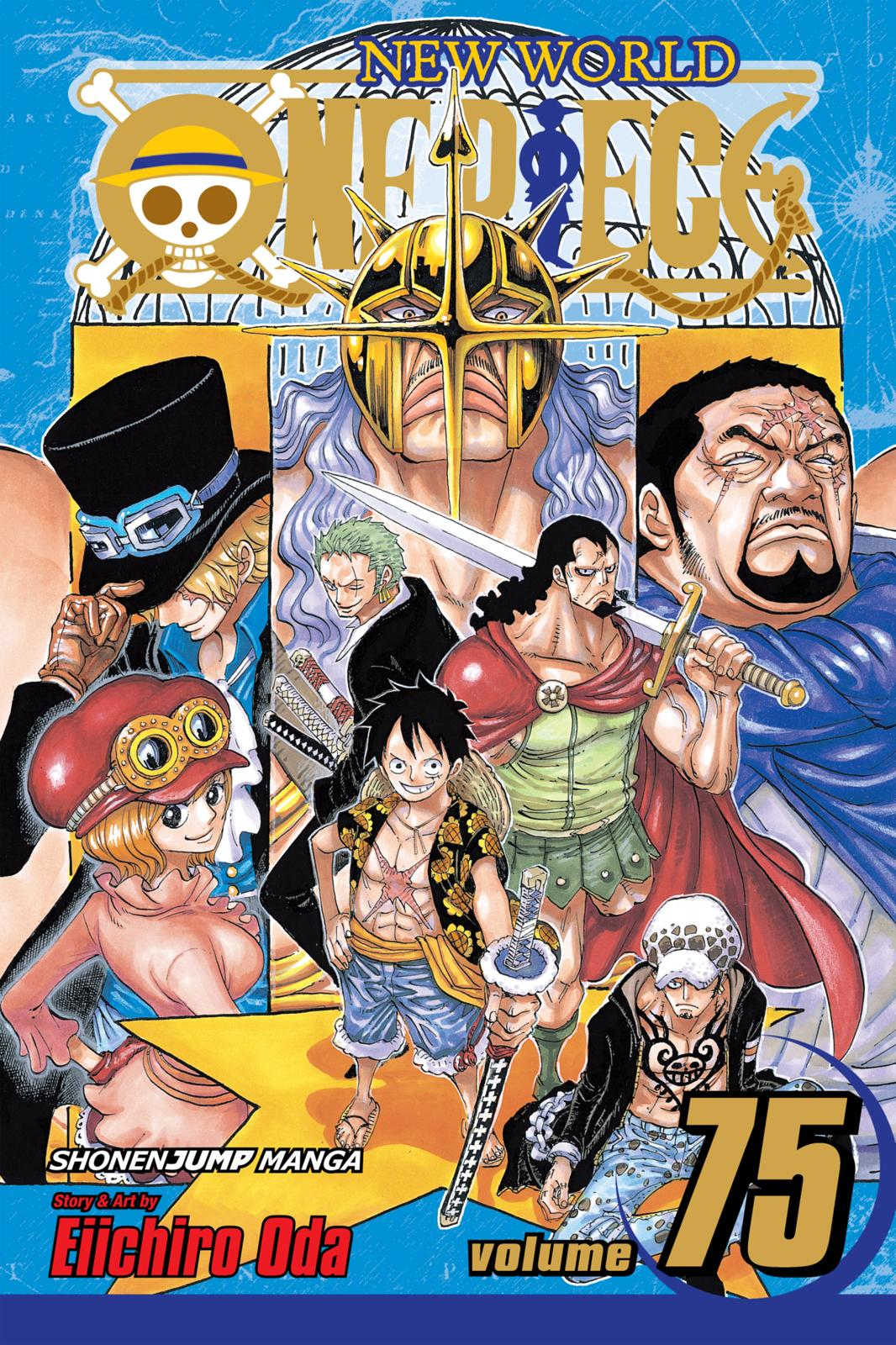 One Piece Chapter 743 Page 1