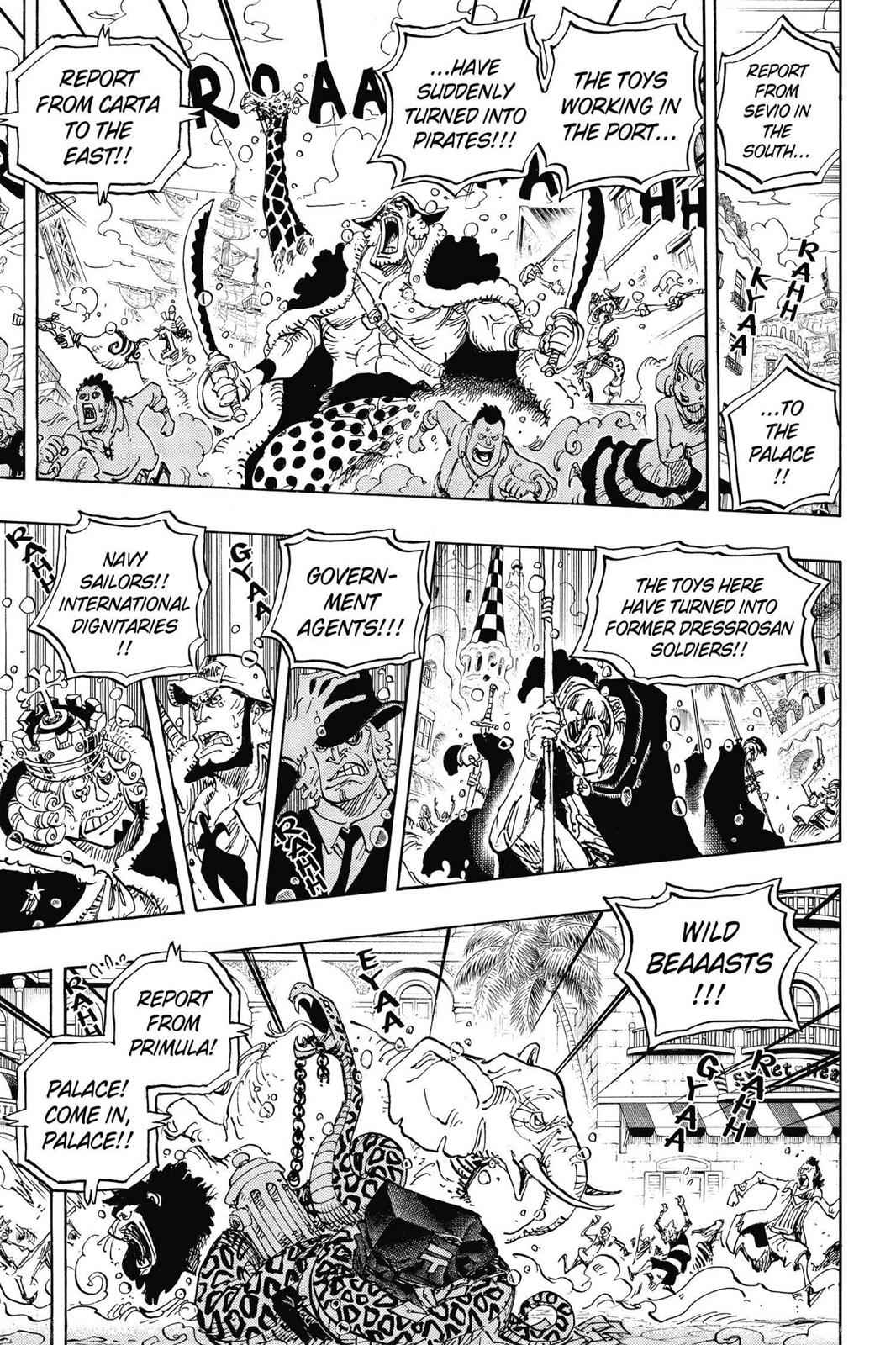 One Piece Chapter 743 Page 14