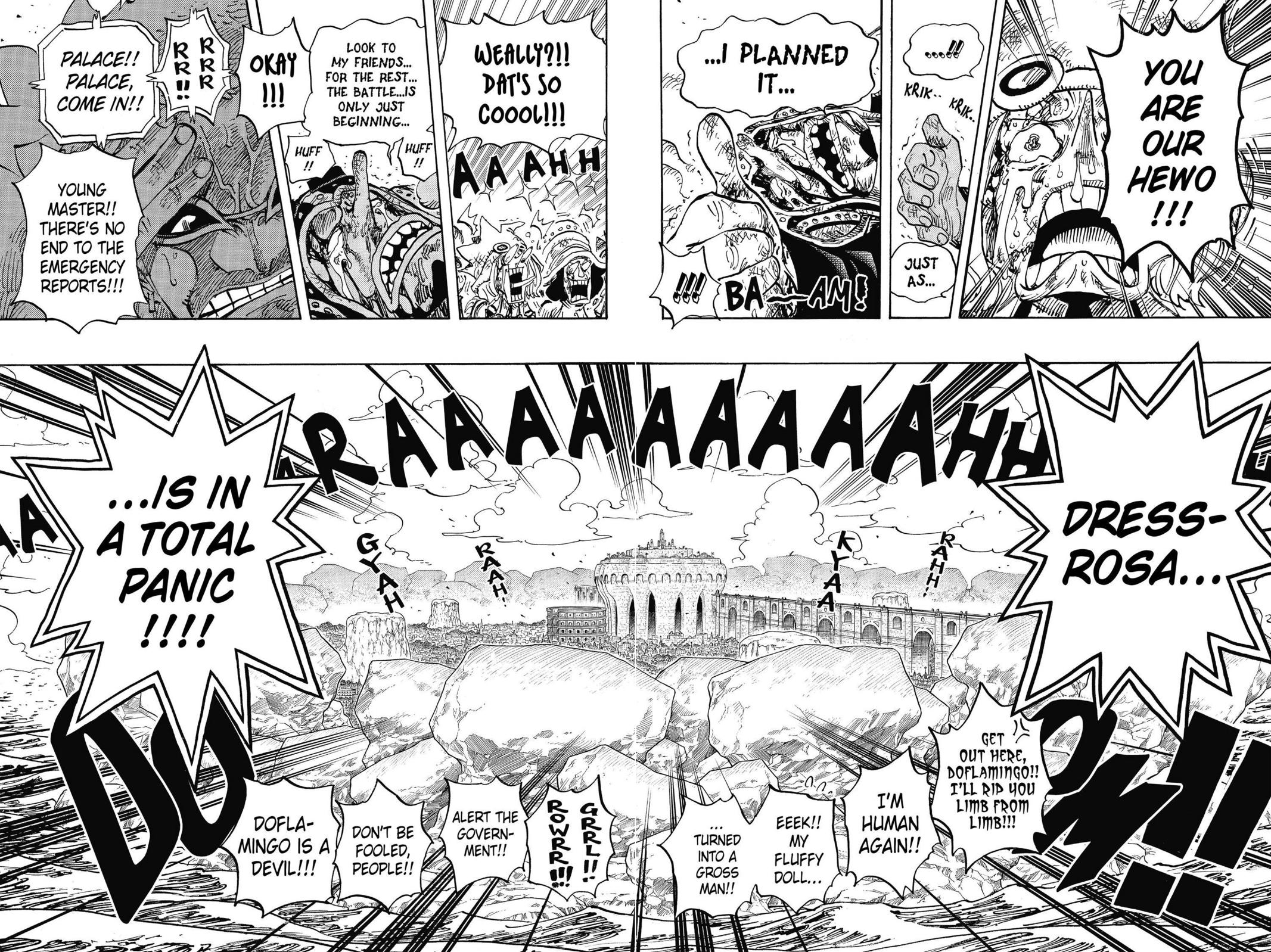 One Piece Chapter 743 Page 16