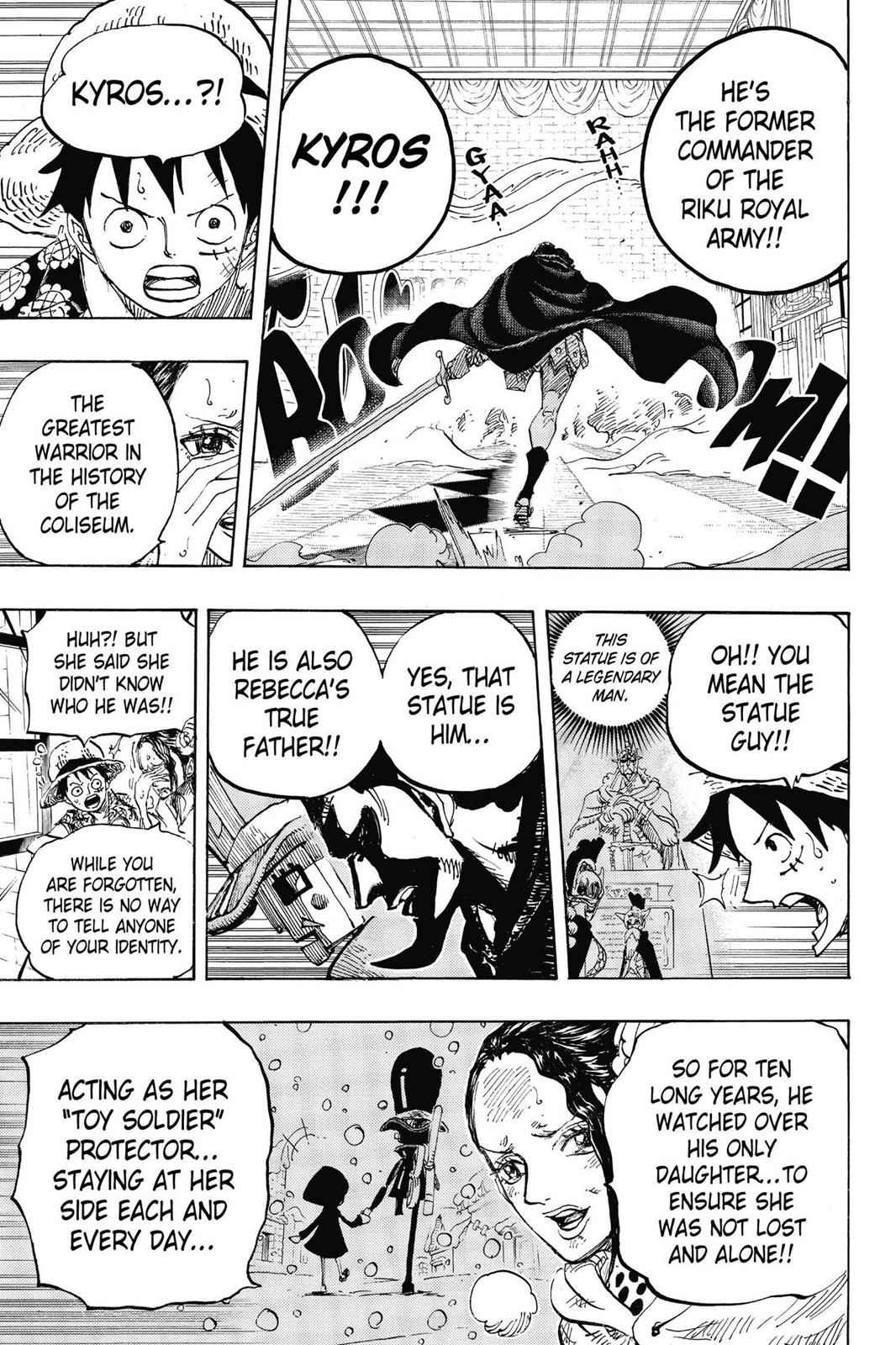 One Piece Chapter 743 Page 20