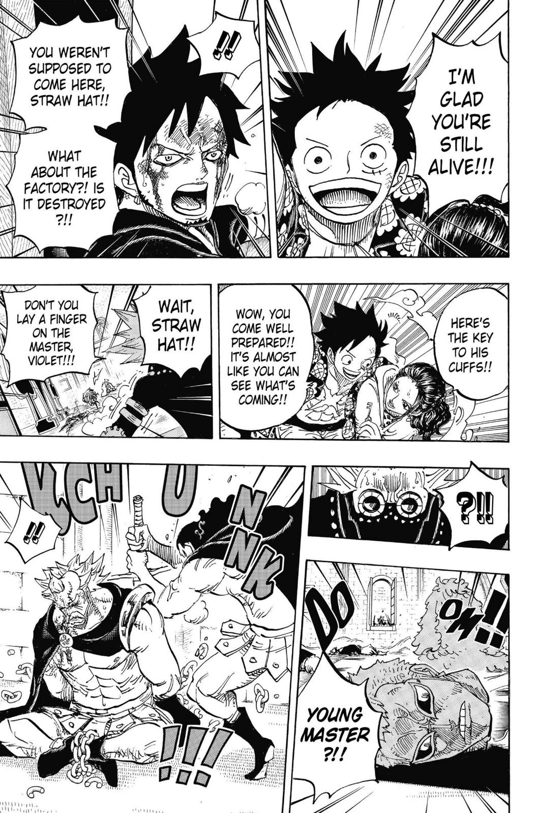 One Piece Chapter 744 Page 16