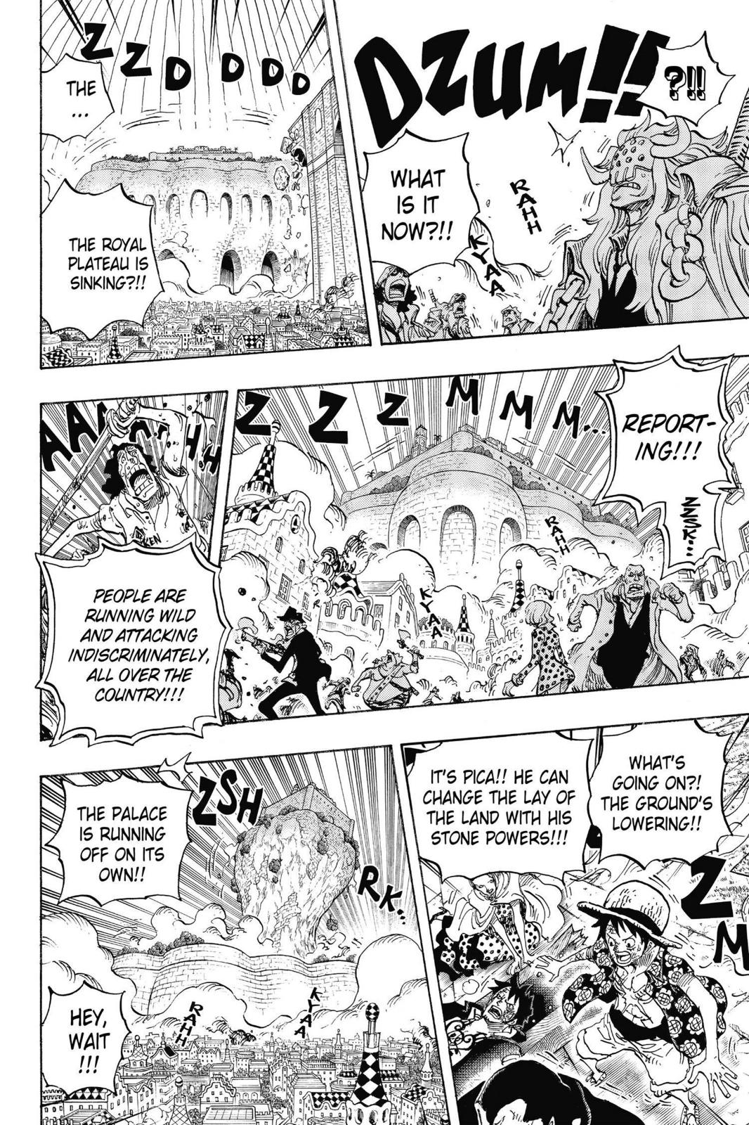 One Piece Chapter 745 Page 16