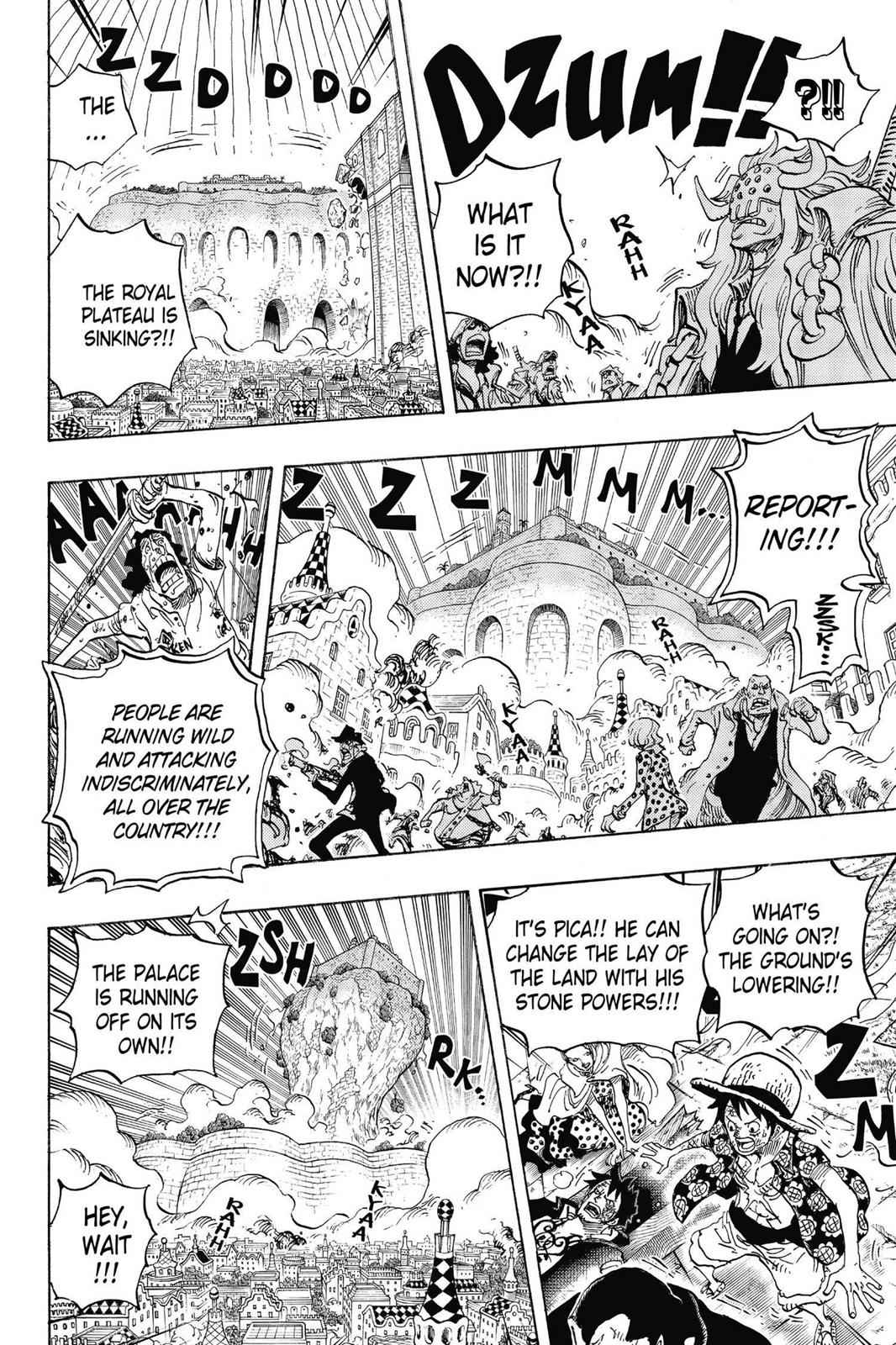 One Piece Chapter 745 Page 17