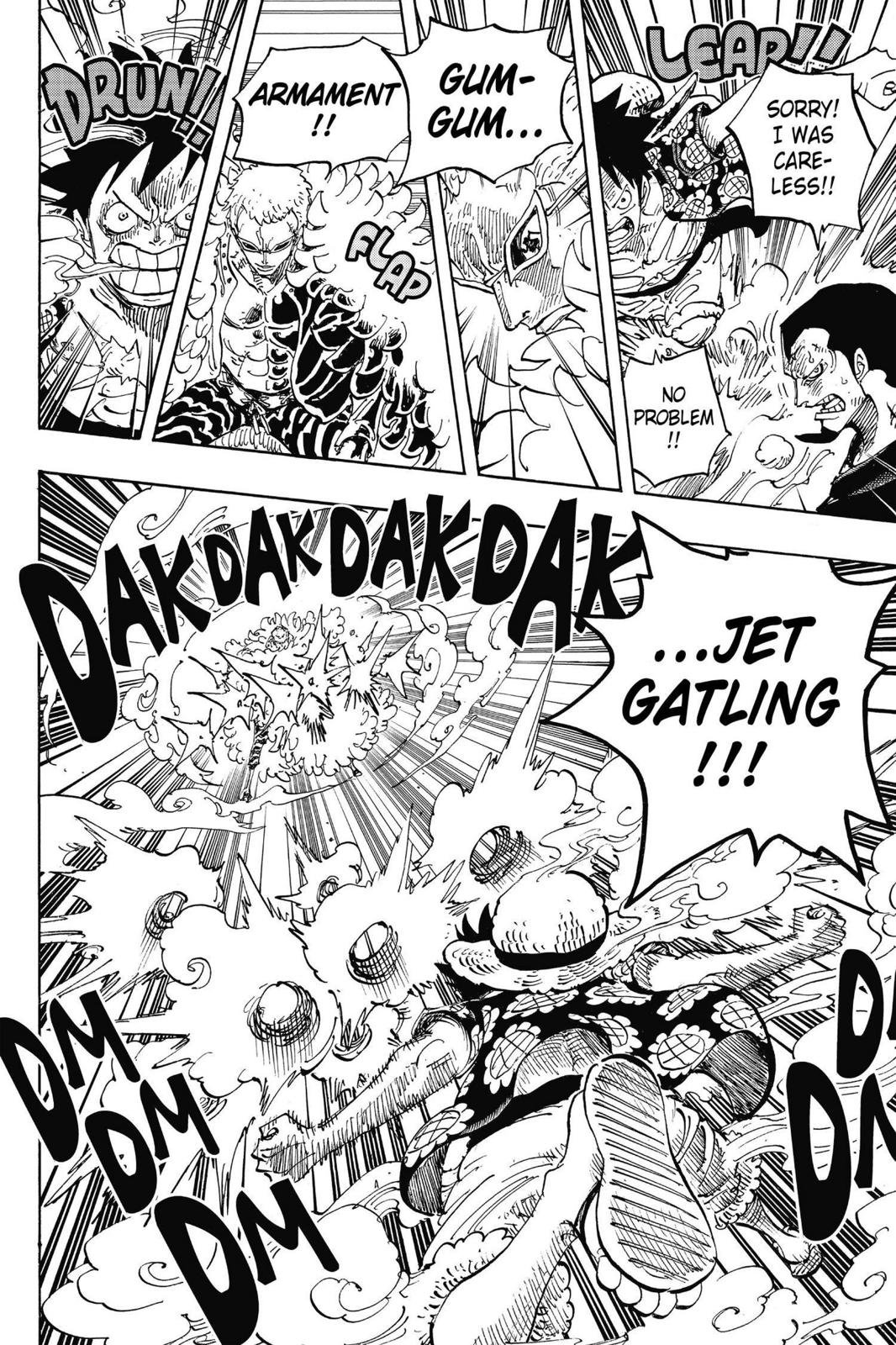 One Piece Chapter 745 Page 8