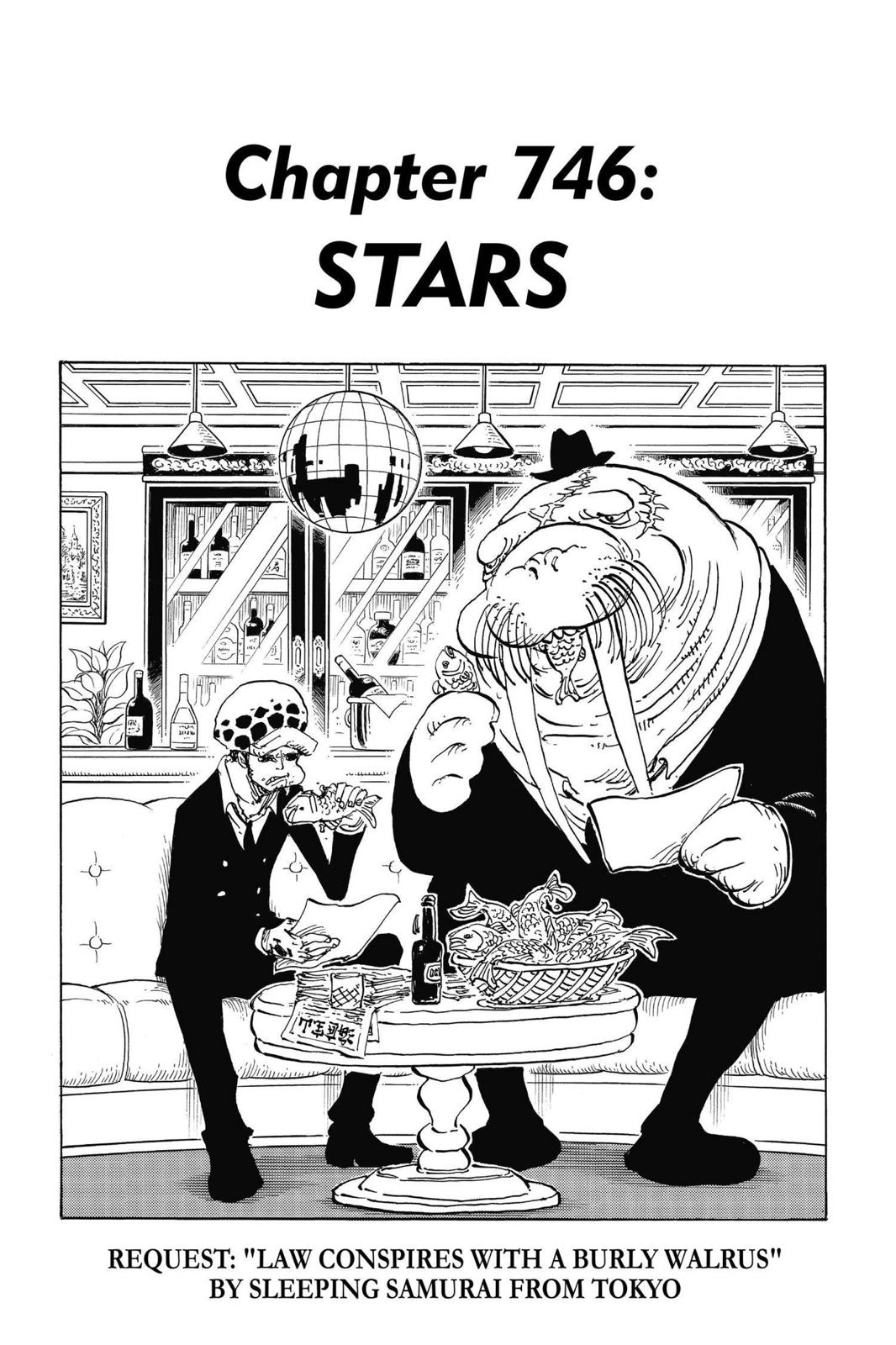 One Piece Chapter 746 Page 1
