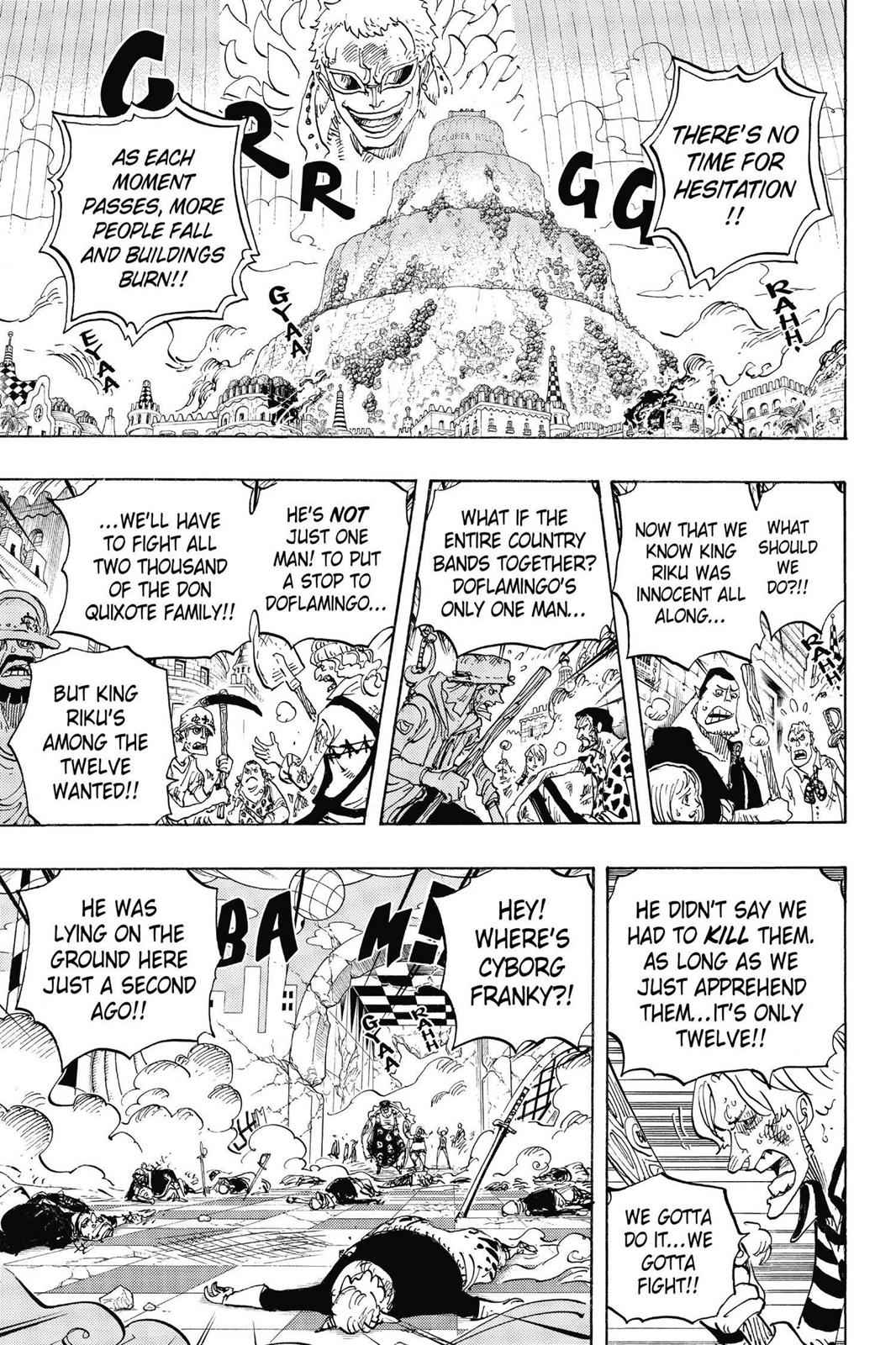 One Piece Chapter 746 Page 13