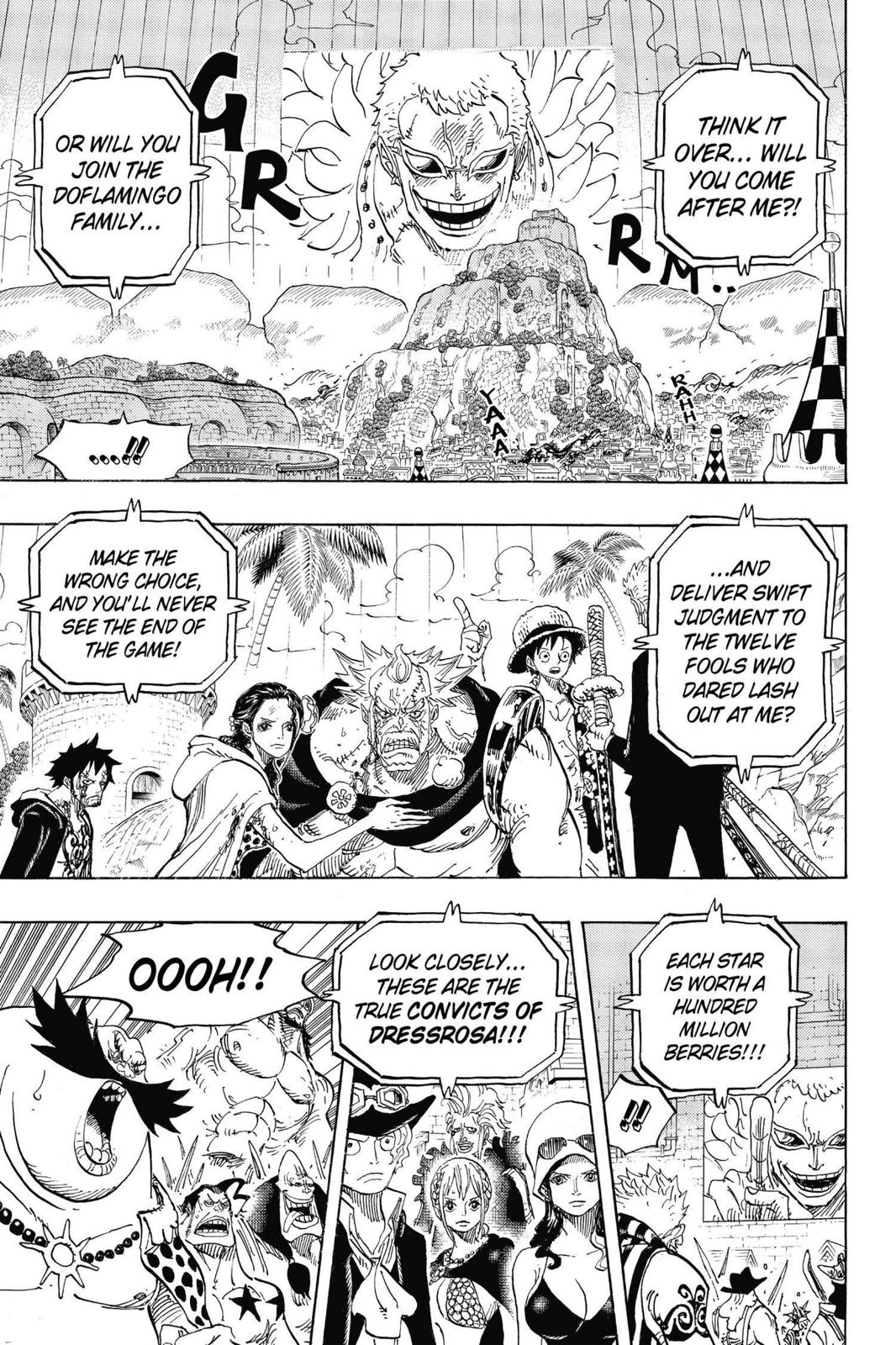 One Piece Chapter 746 Page 7