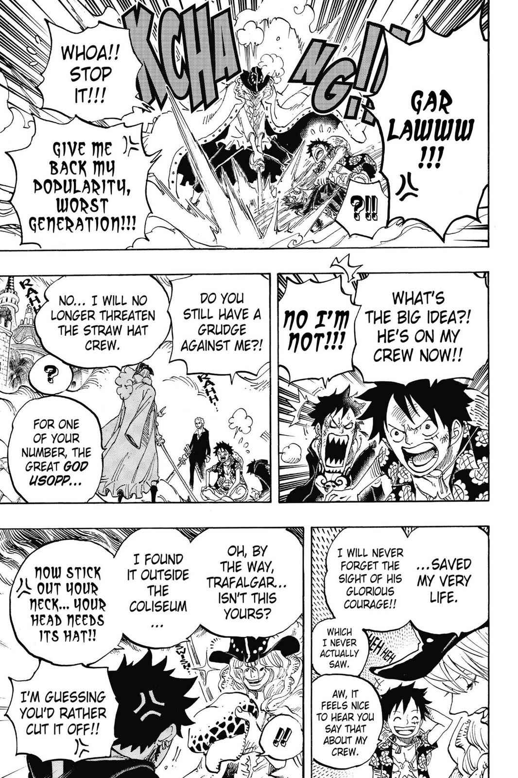 One Piece Chapter 748 Page 7