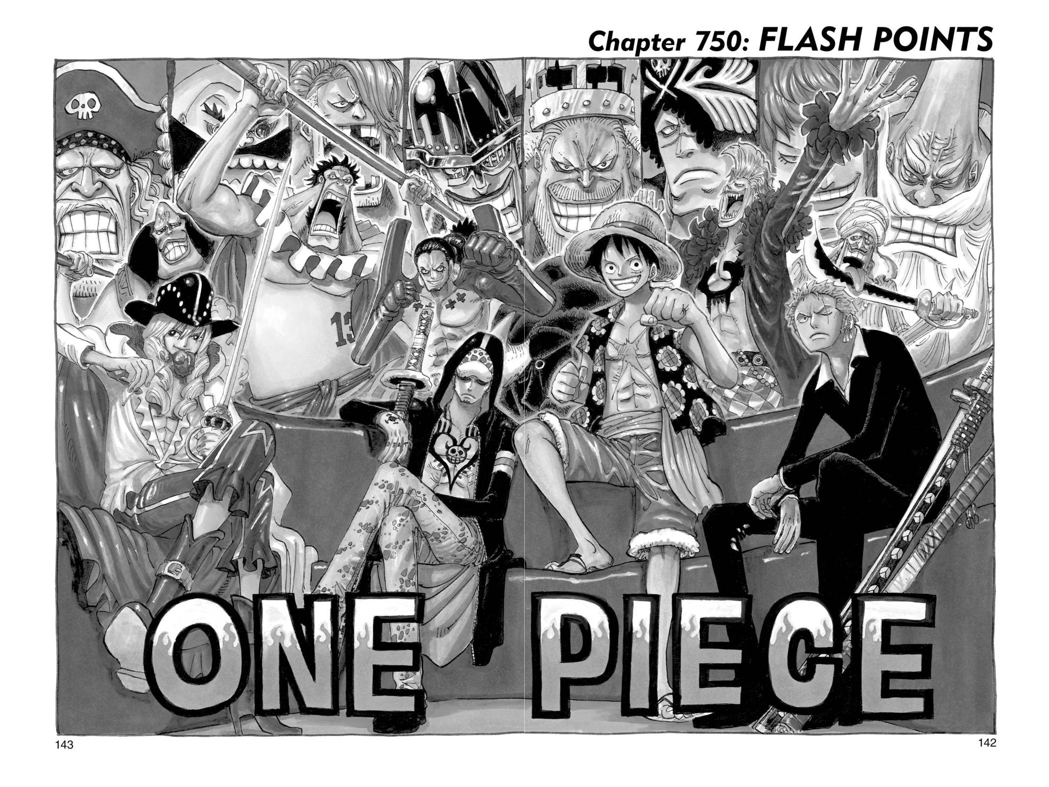 One Piece Chapter 750 Page 1