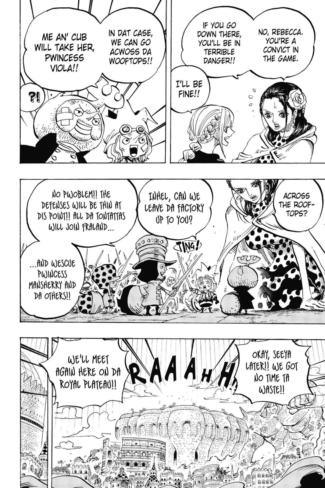 One Piece Chapter 750 Page 11