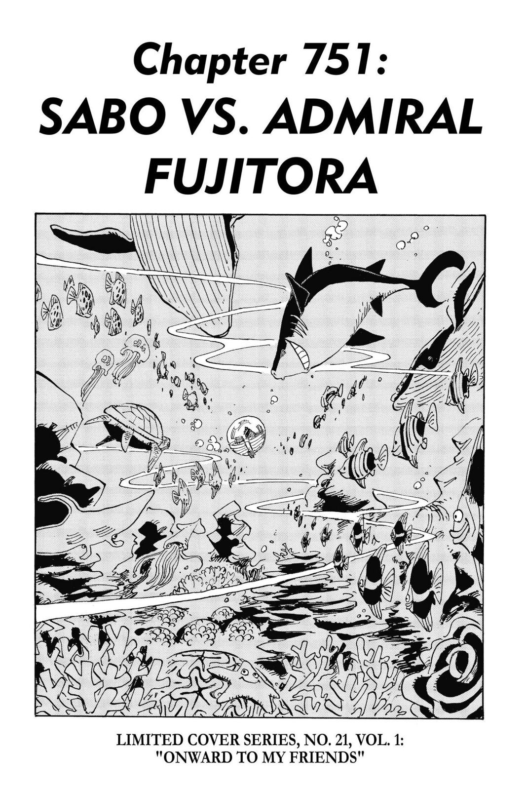 One Piece Chapter 751 Page 1
