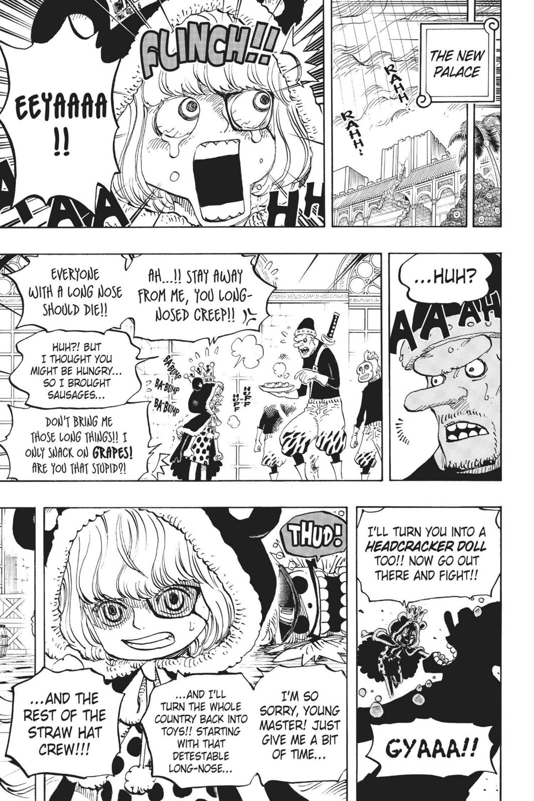 One Piece Chapter 756 Page 11
