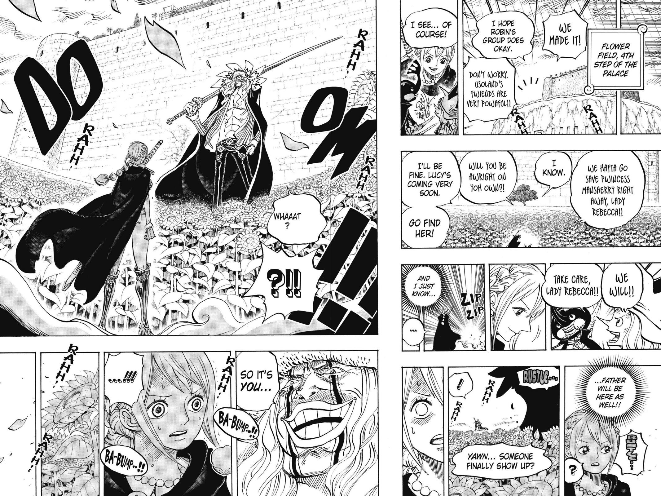 One Piece Chapter 756 Page 18