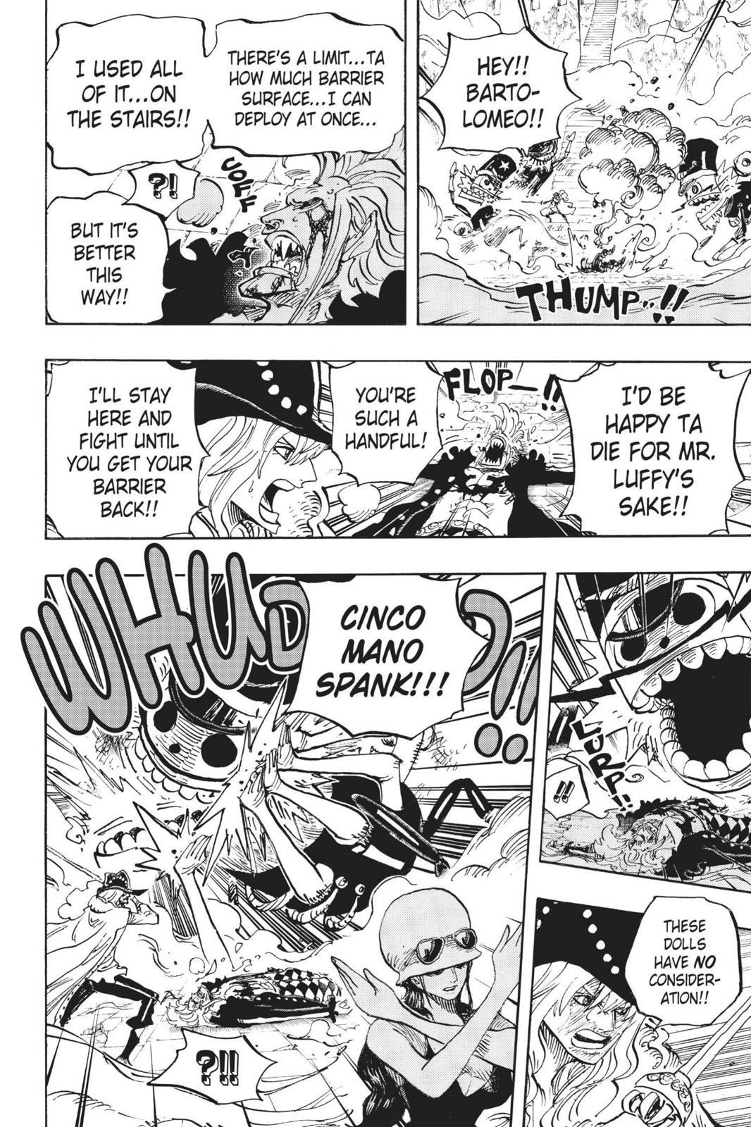 One Piece Chapter 757 Page 6