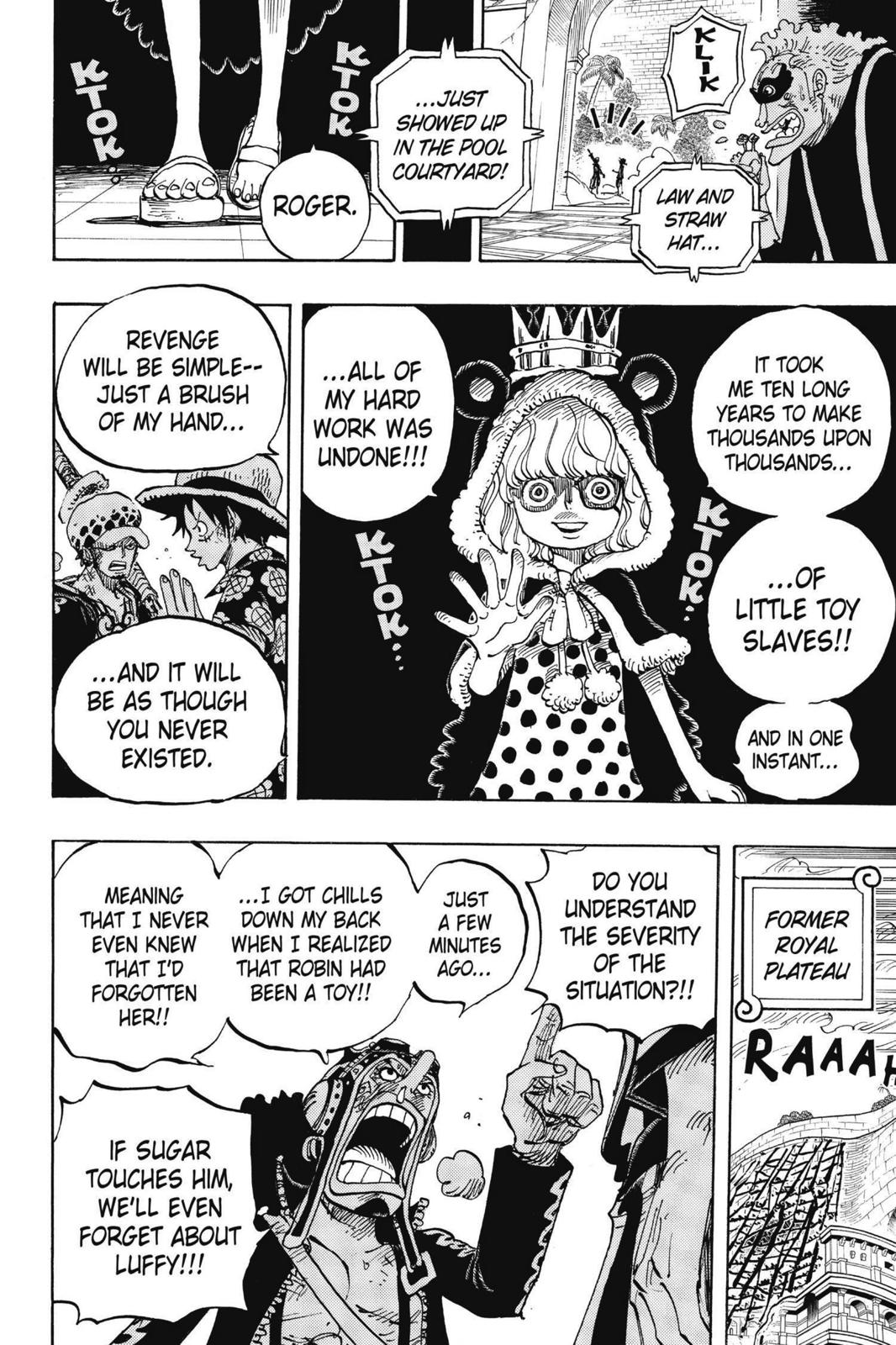 One Piece Chapter 758 Page 6
