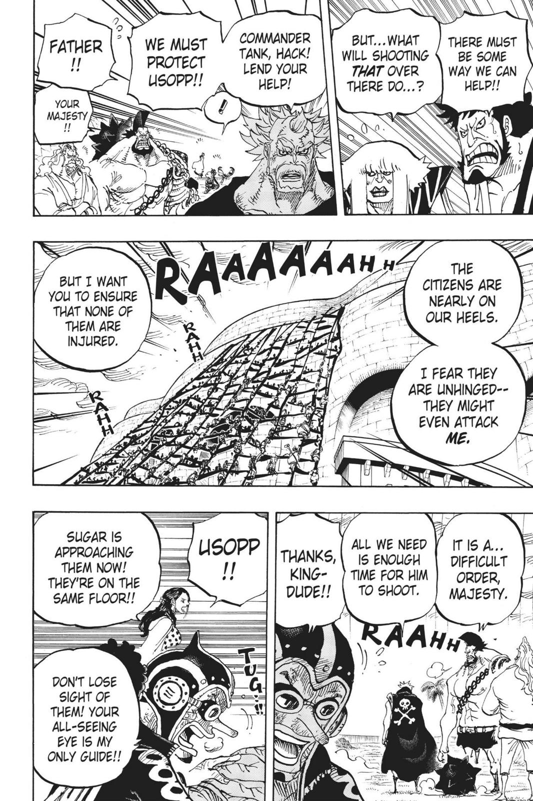 One Piece Chapter 758 Page 8