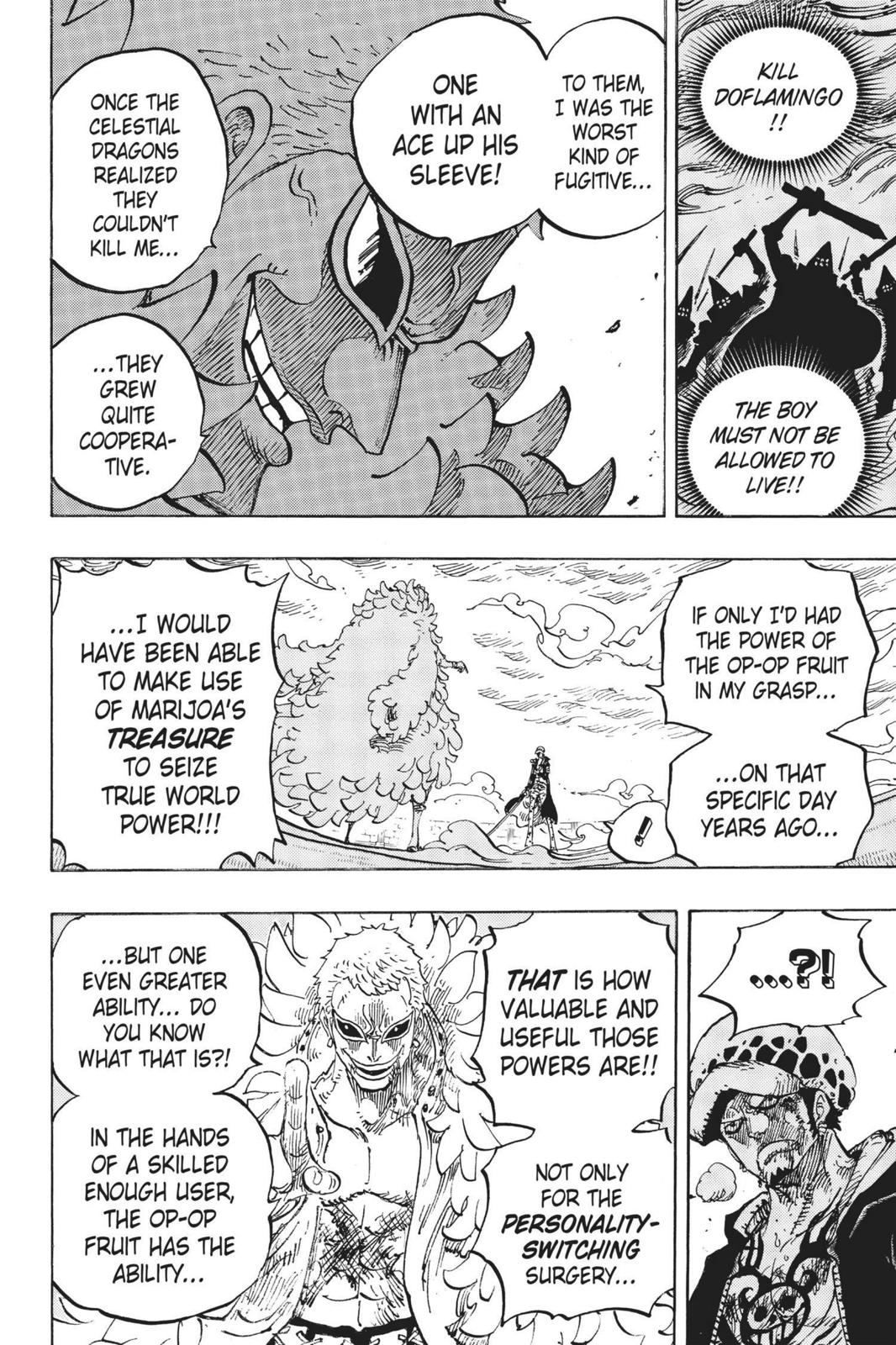 One Piece Chapter 761 Page 8