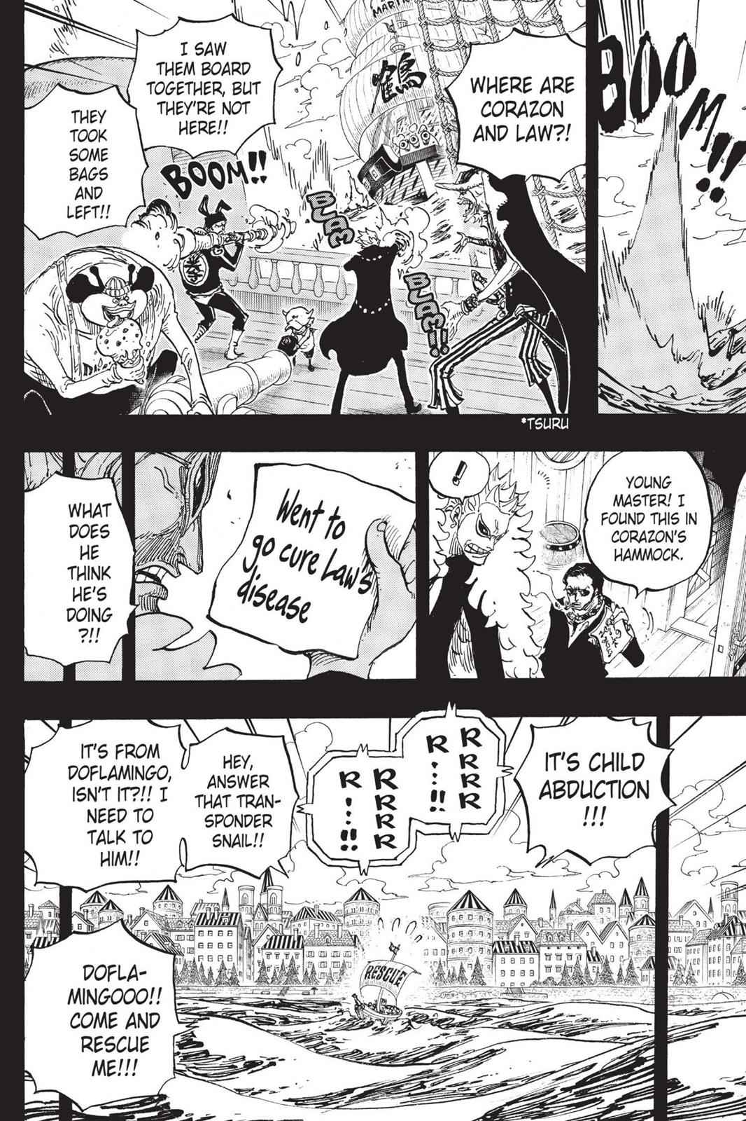 One Piece Chapter 764 Page 21