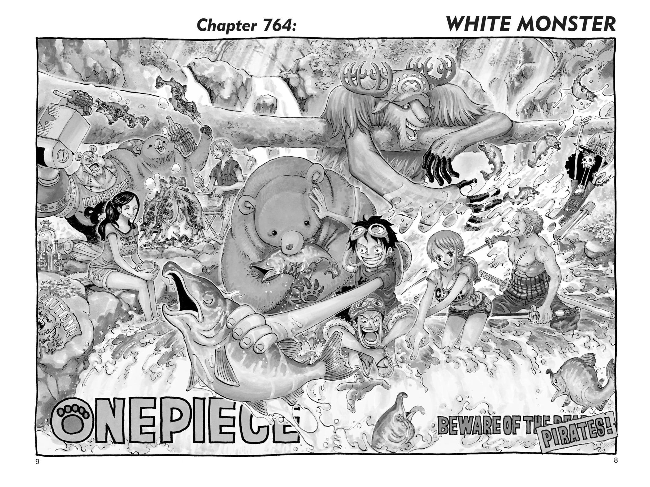 One Piece Chapter 764 Page 8