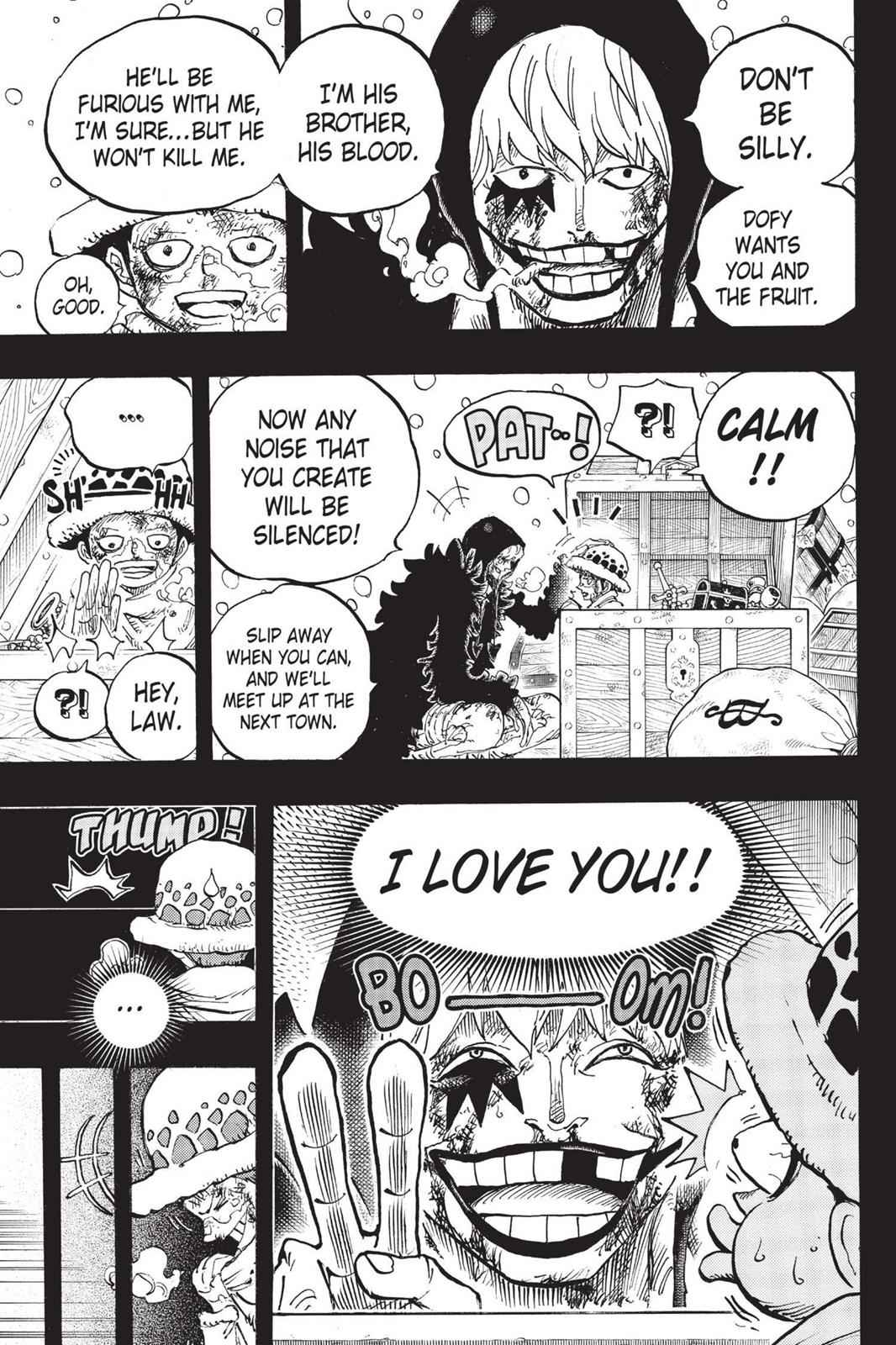 One Piece Chapter 767 Page 13