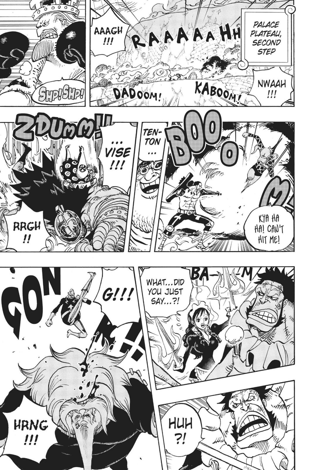 One Piece Chapter 768 Page 10