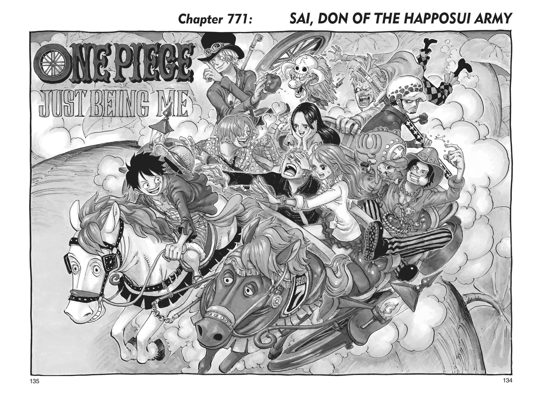 One Piece Chapter 771 Page 1