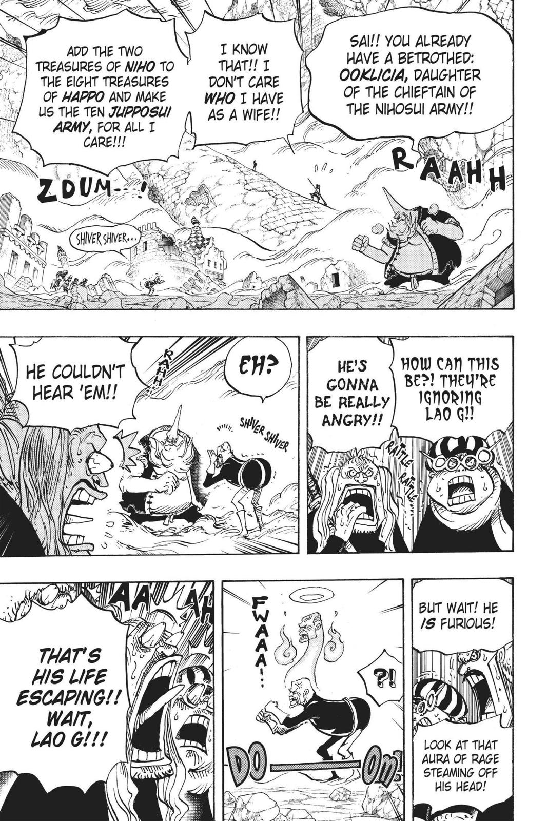One Piece Chapter 771 Page 7